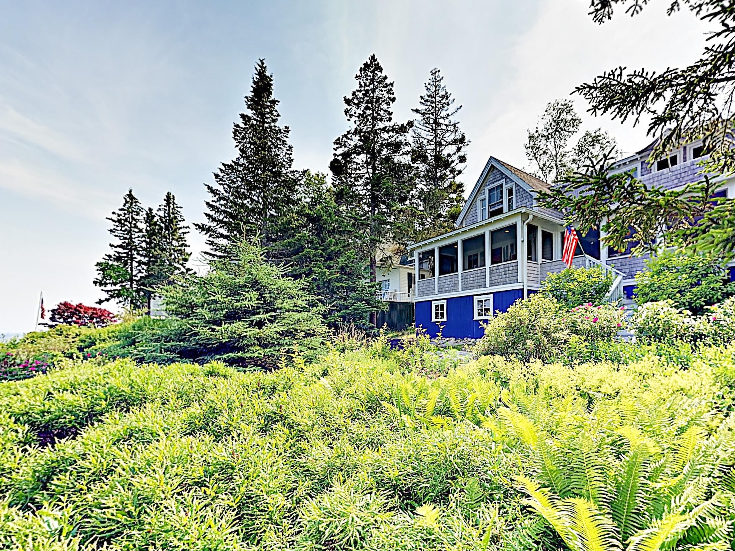 A quintessential Maine experience awaits at this waterfront duplex.