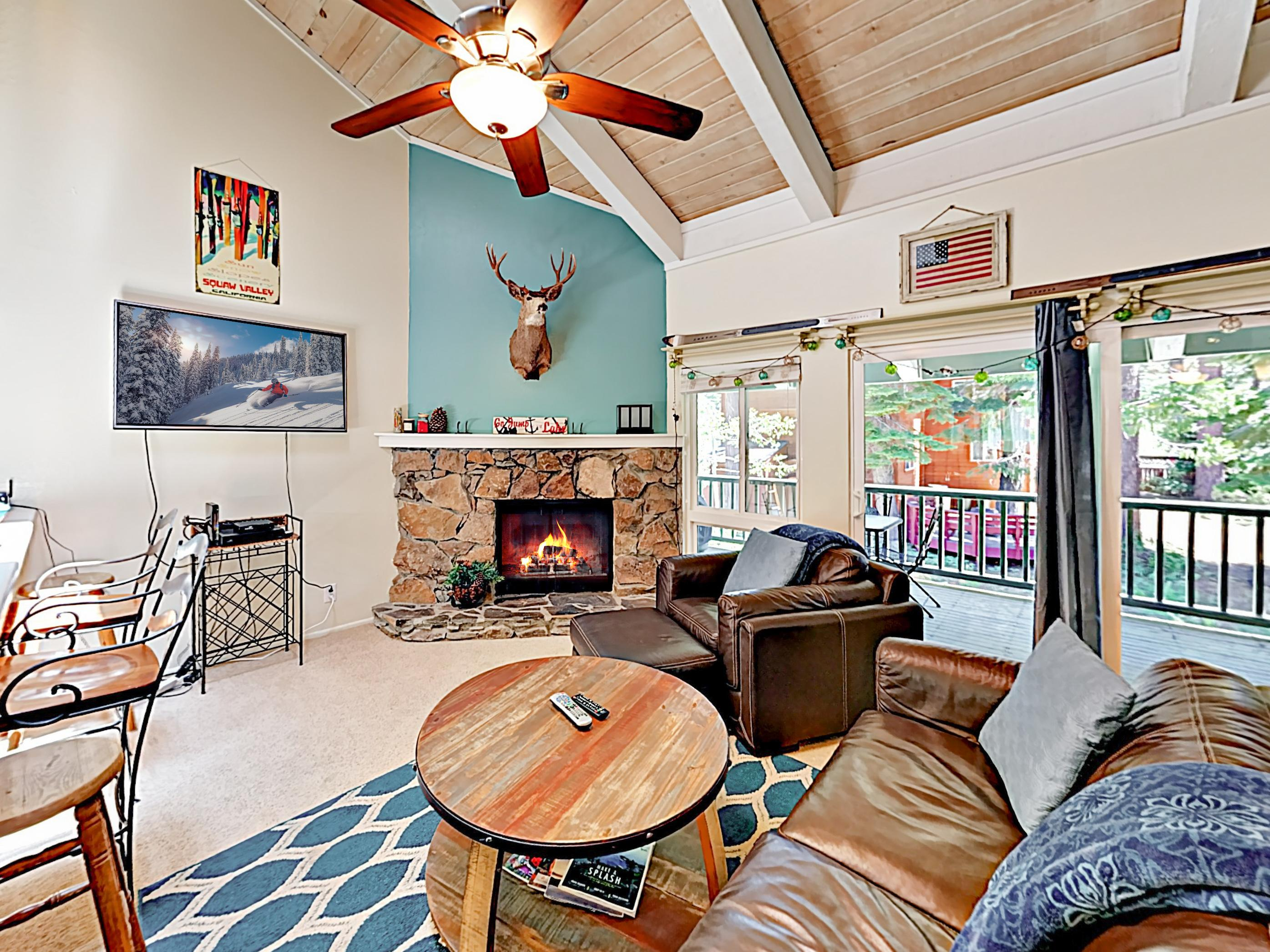 Welcome to Tahoe City! This condo is professionally managed by TurnKey Vacation Rentals.