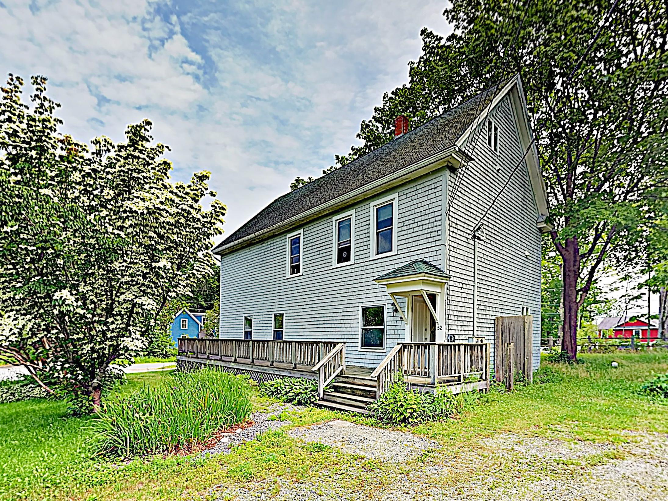 Located above the historic post office, this charming 3BR home is the quintessential New England escape.