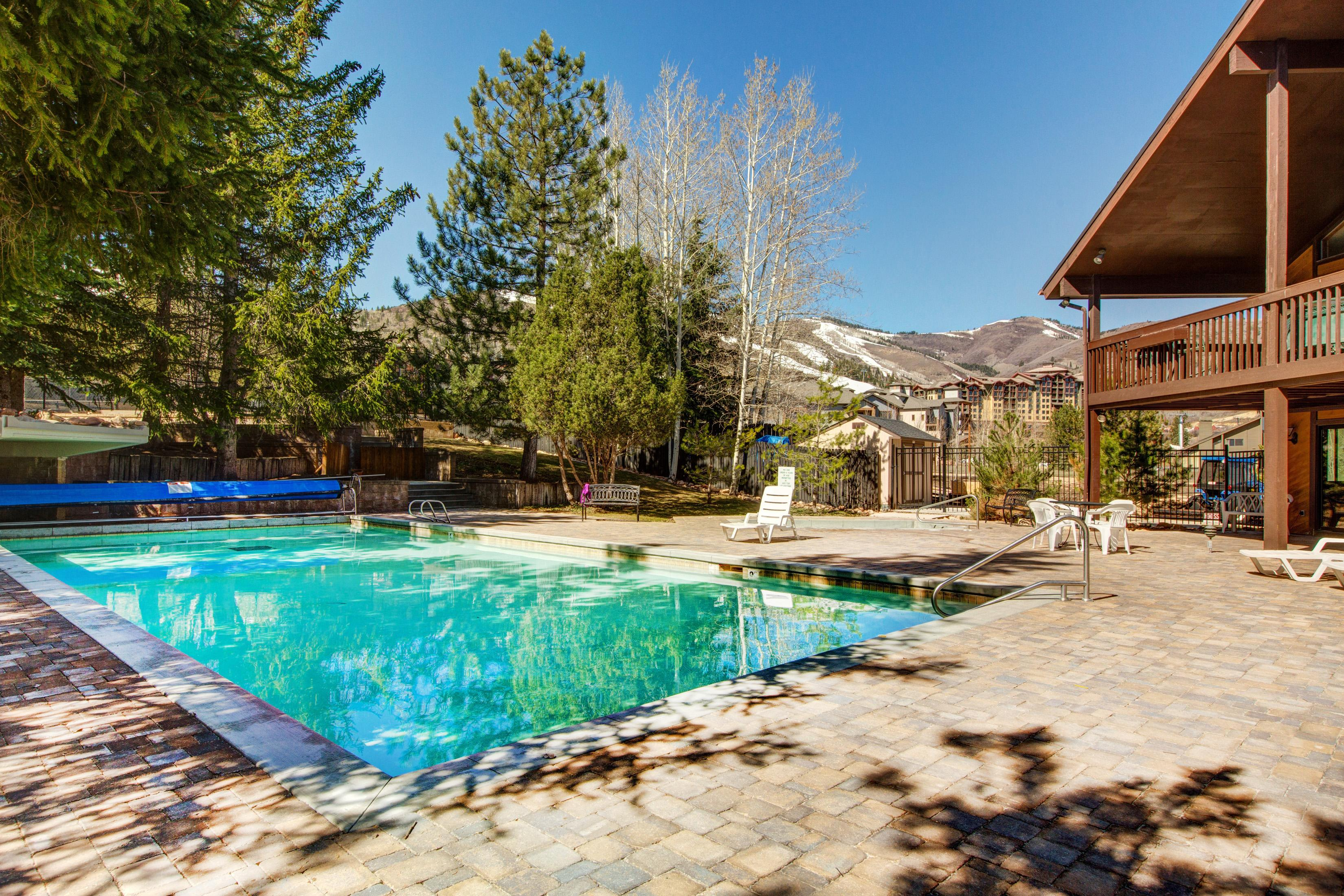 Property Image 2 - Canyons Gem with Heated Pool and Hot Tub Steps to Lift