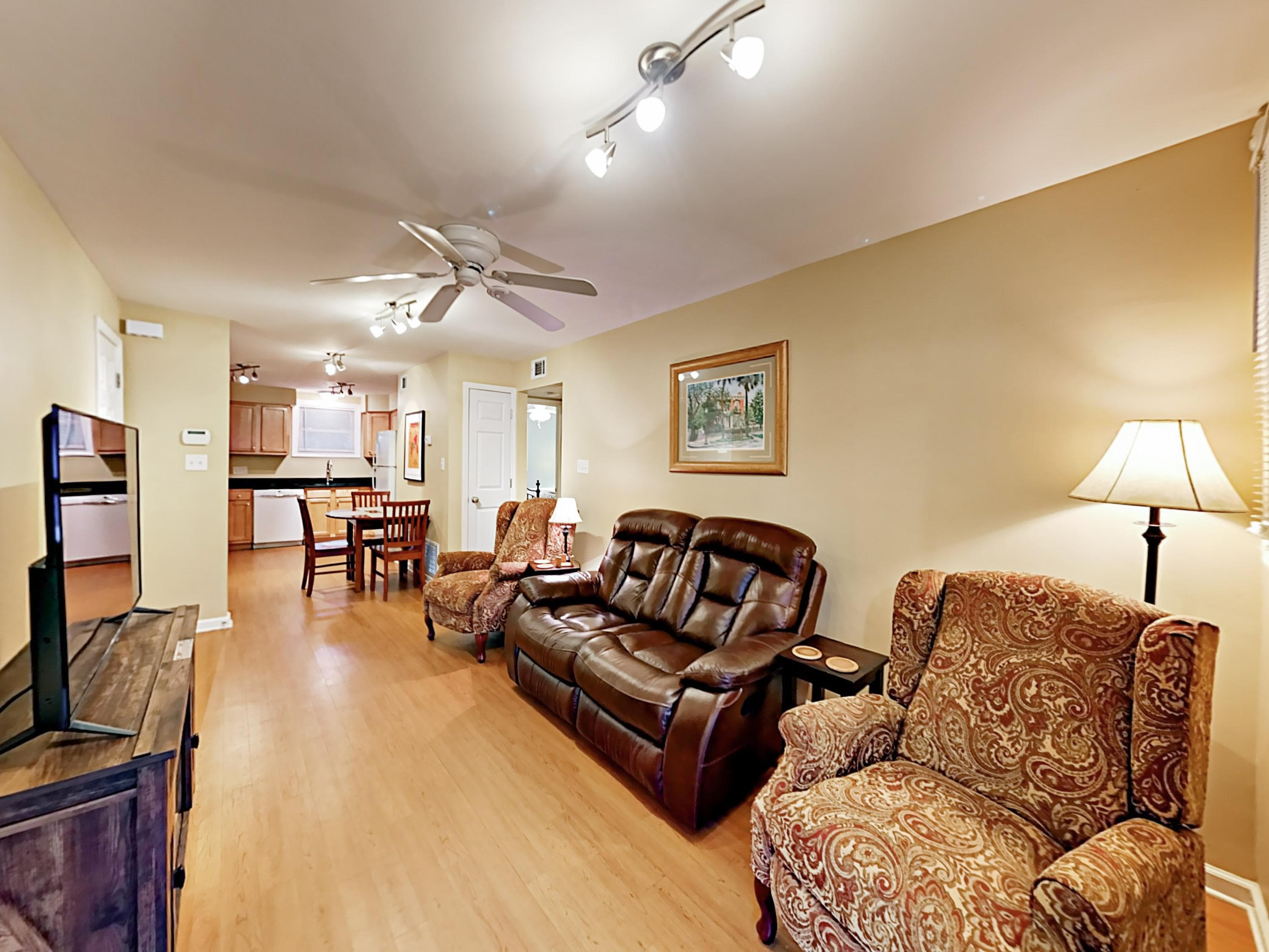 Welcome to Savannah! Your rental is professionally managed by TurnKey Vacation Rentals.