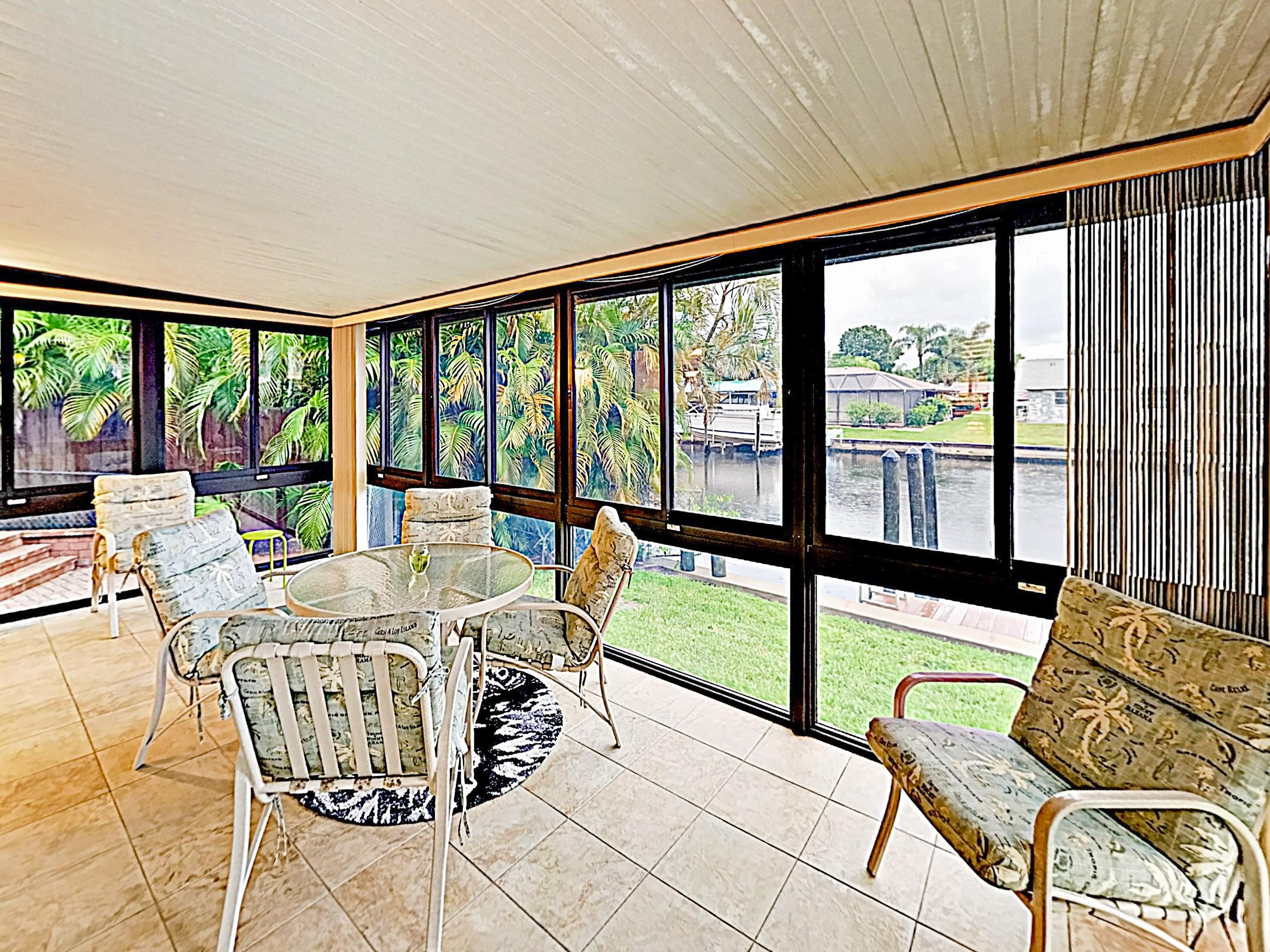 Welcome to North Fort Myers! This waterfront home is professionally managed by TurnKey Vacation Rentals.