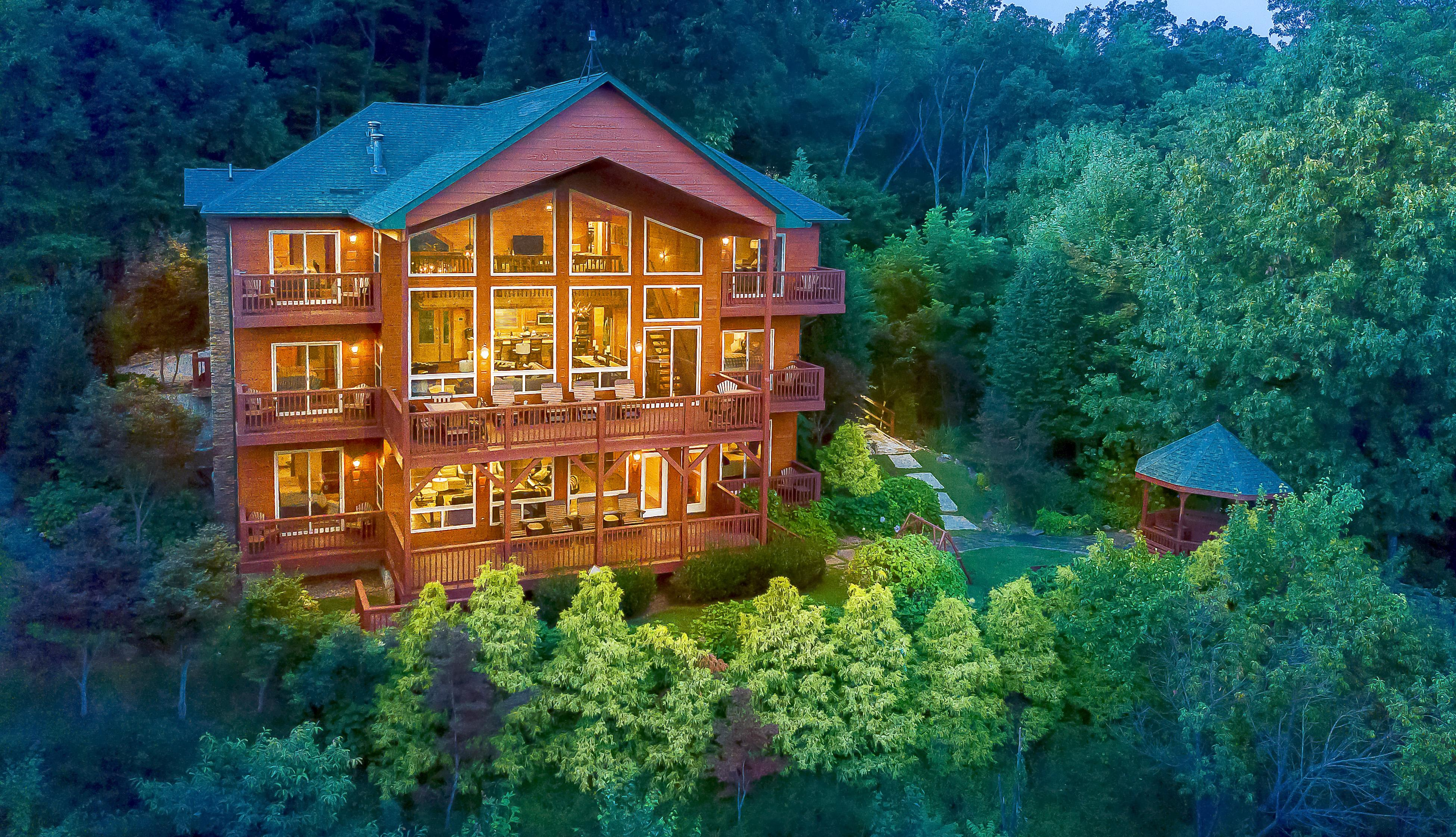 Welcome to Gatlinburg! This luxury home is professionally managed by TurnKey Vacation Rentals.