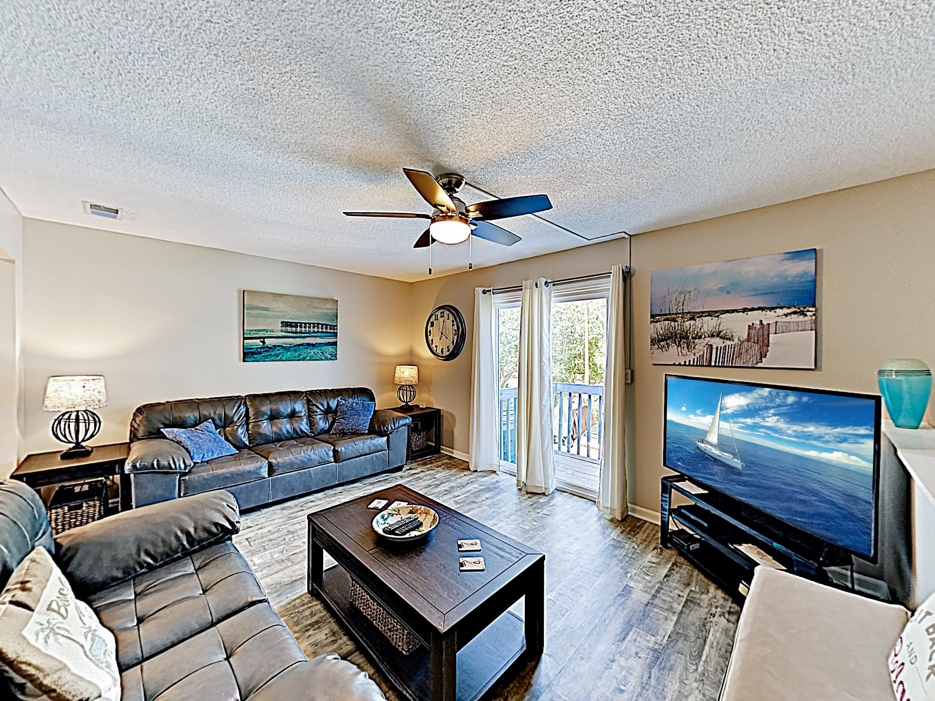 Polished Seawalk Beach Condo with Private Balcony