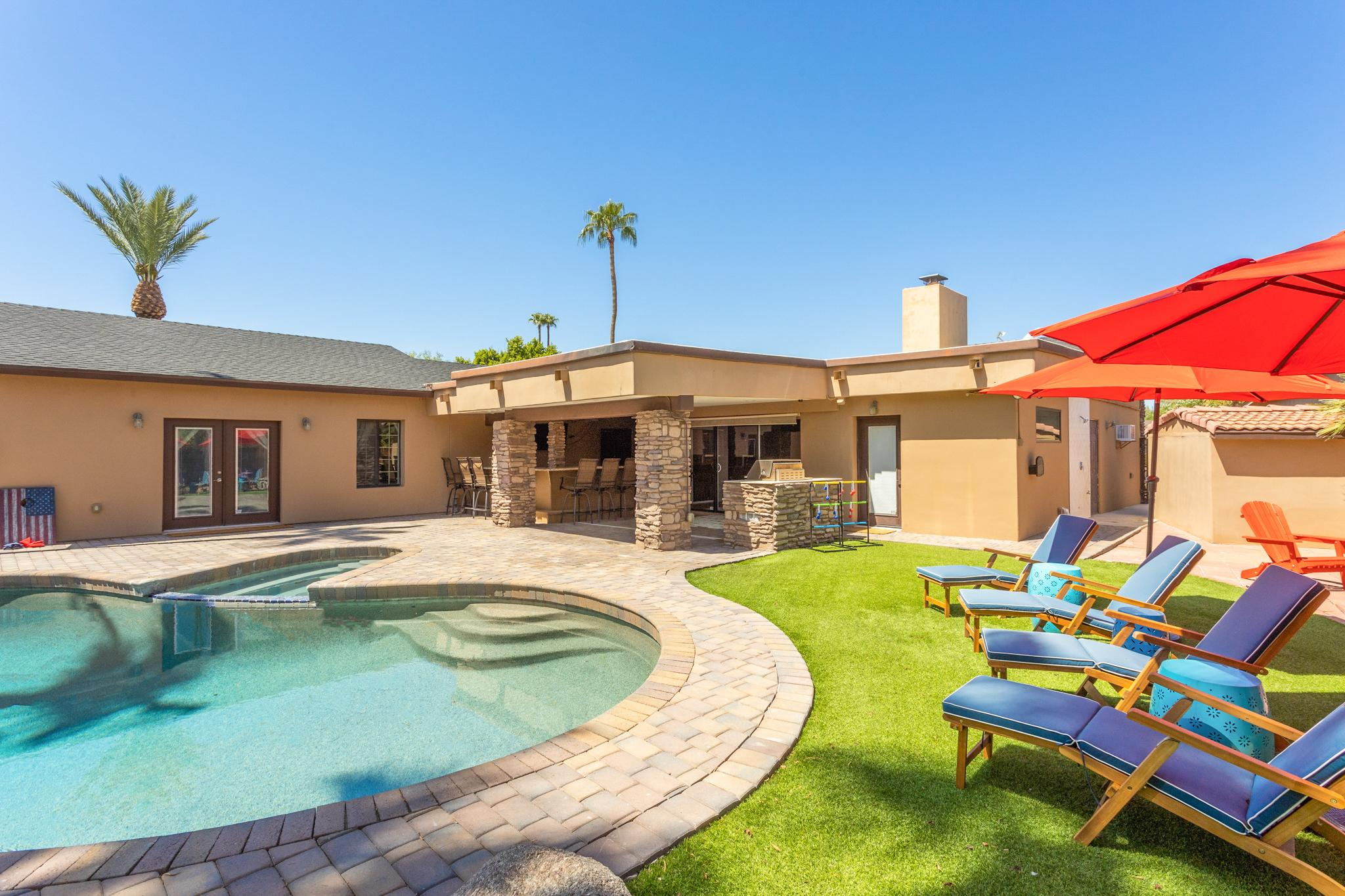 Welcome to Scottsdale! This home is professionally managed by TurnKey Vacation Rentals.