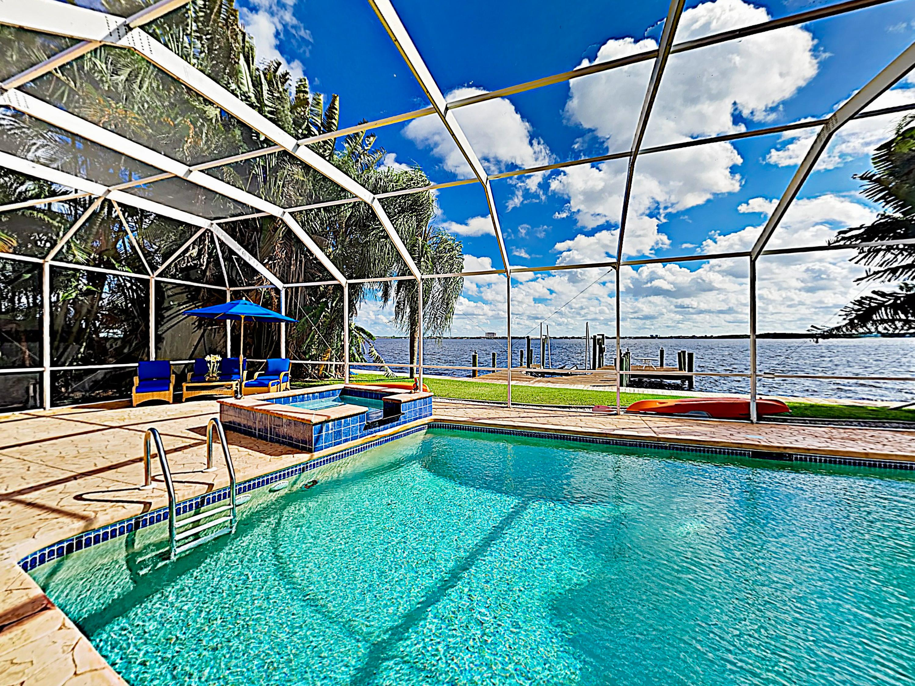 Welcome to Cape Coral! This waterfront home is professionally managed by TurnKey Vacation Rentals.