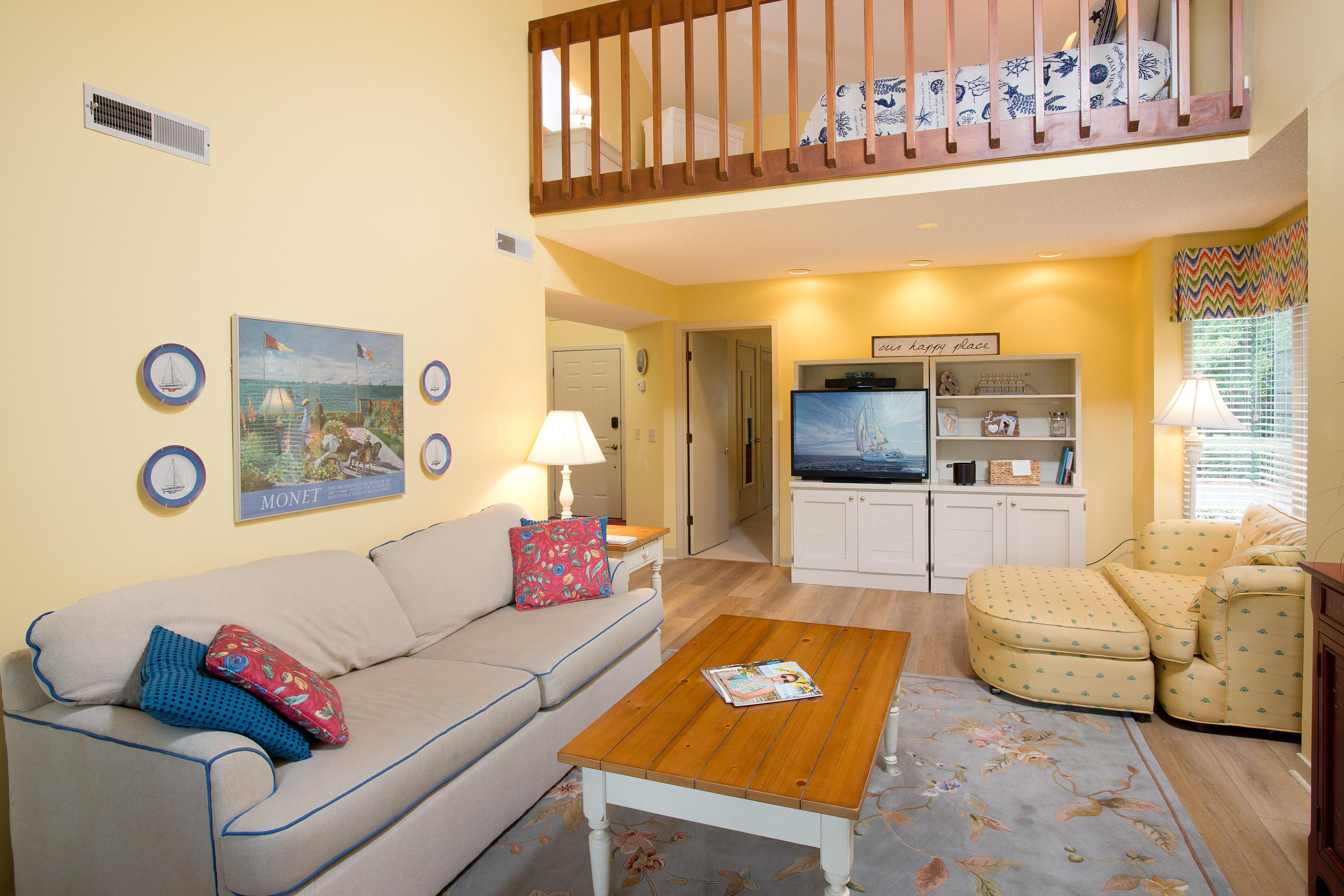 Welcome to Hilton Head! This condo is professionally managed by TurnKey Vacation Rentals.