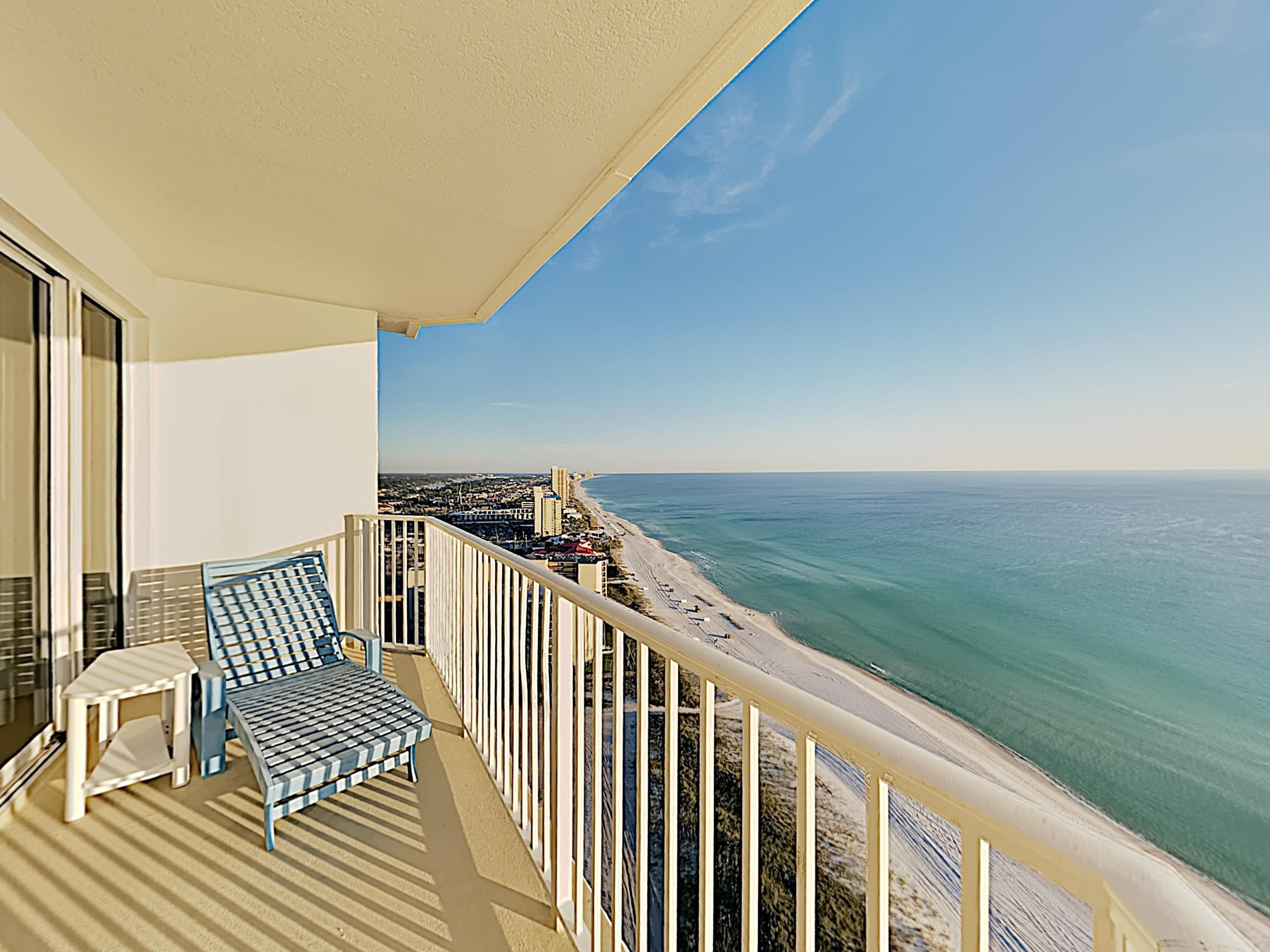 Welcome to Panama City Beach! This corner-unit penthouse is professionally managed by TurnKey Vacation Rentals.
