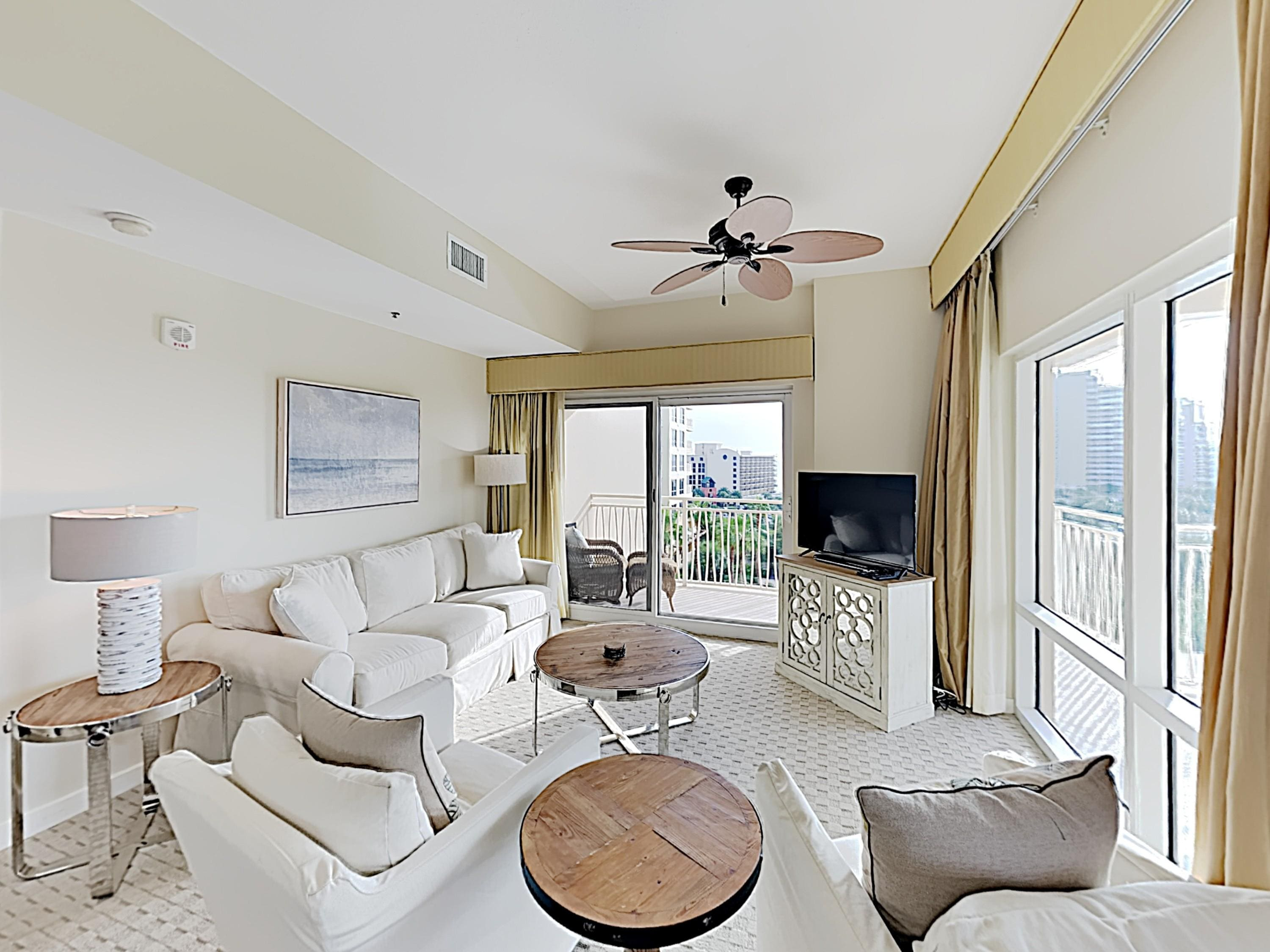 Welcome to Miramar Beach! This 5th-floor condo is professionally managed by TurnKey Vacation Rentals.