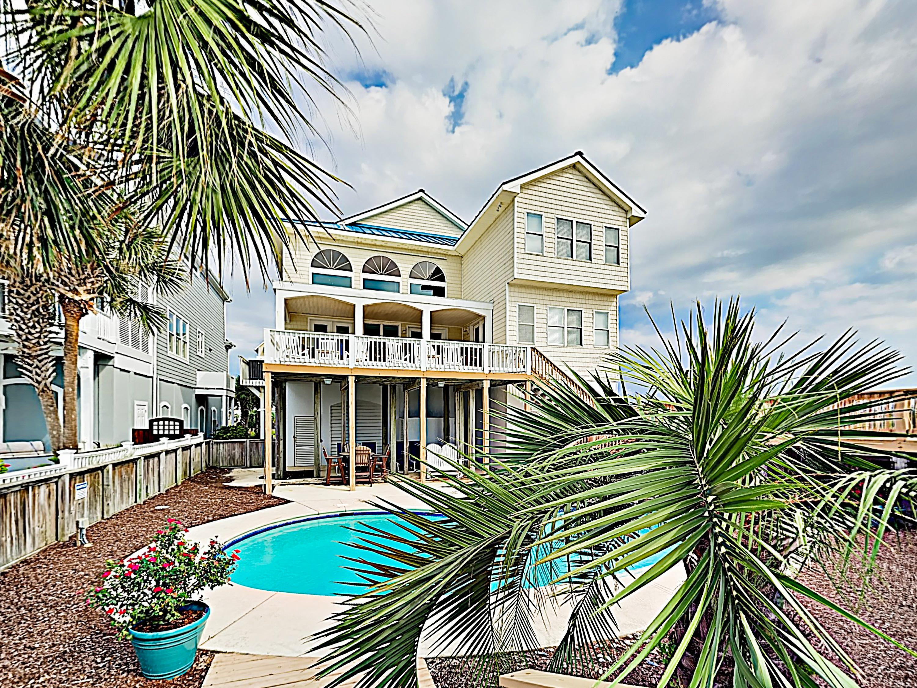 Welcome to Ocean Isle Beach! This home is professionally managed by TurnKey Vacation Rentals.
