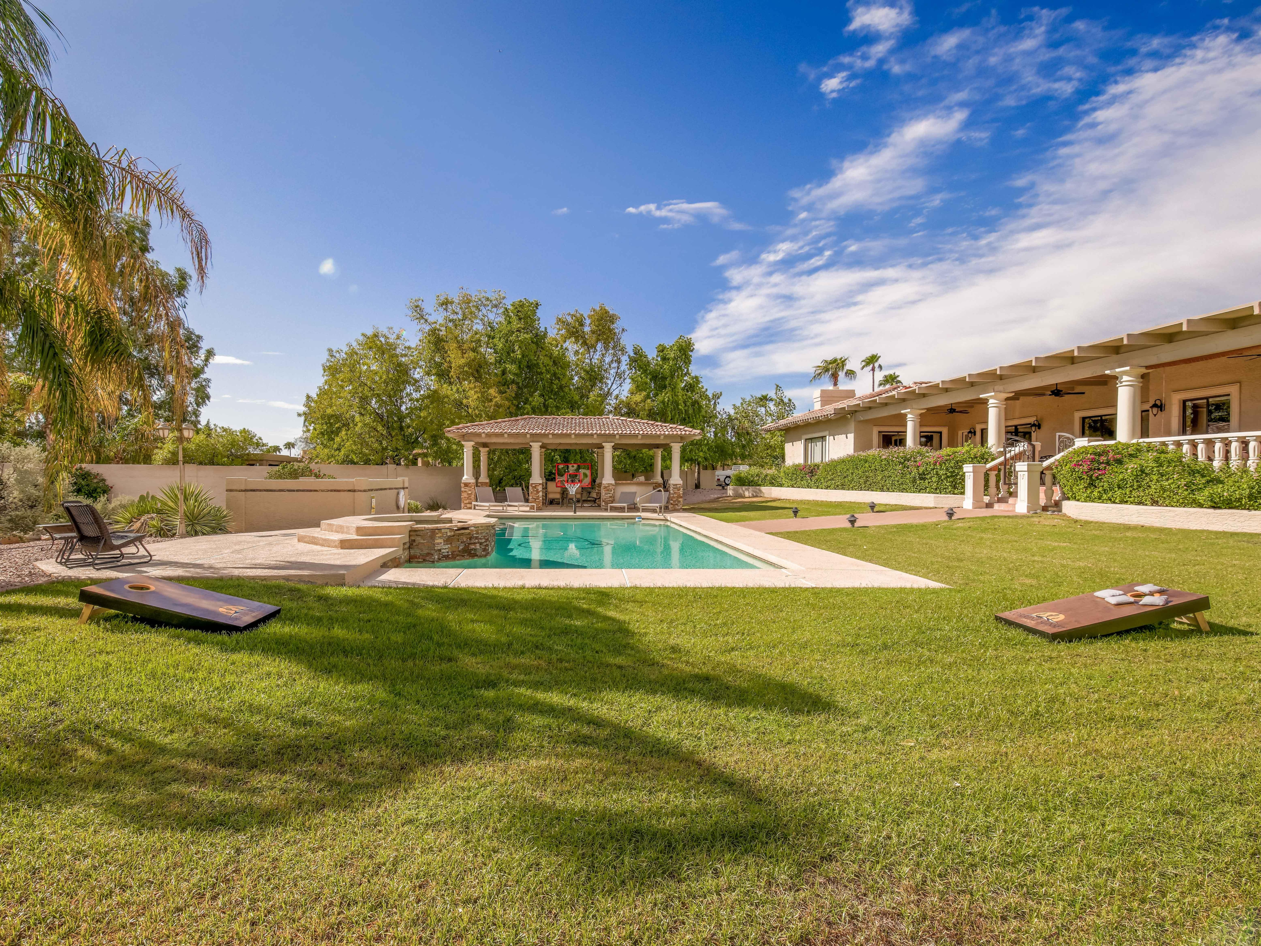 Welcome to Scottsdale! This luxury home is professionally managed by TurnKey Vacation Rentals.