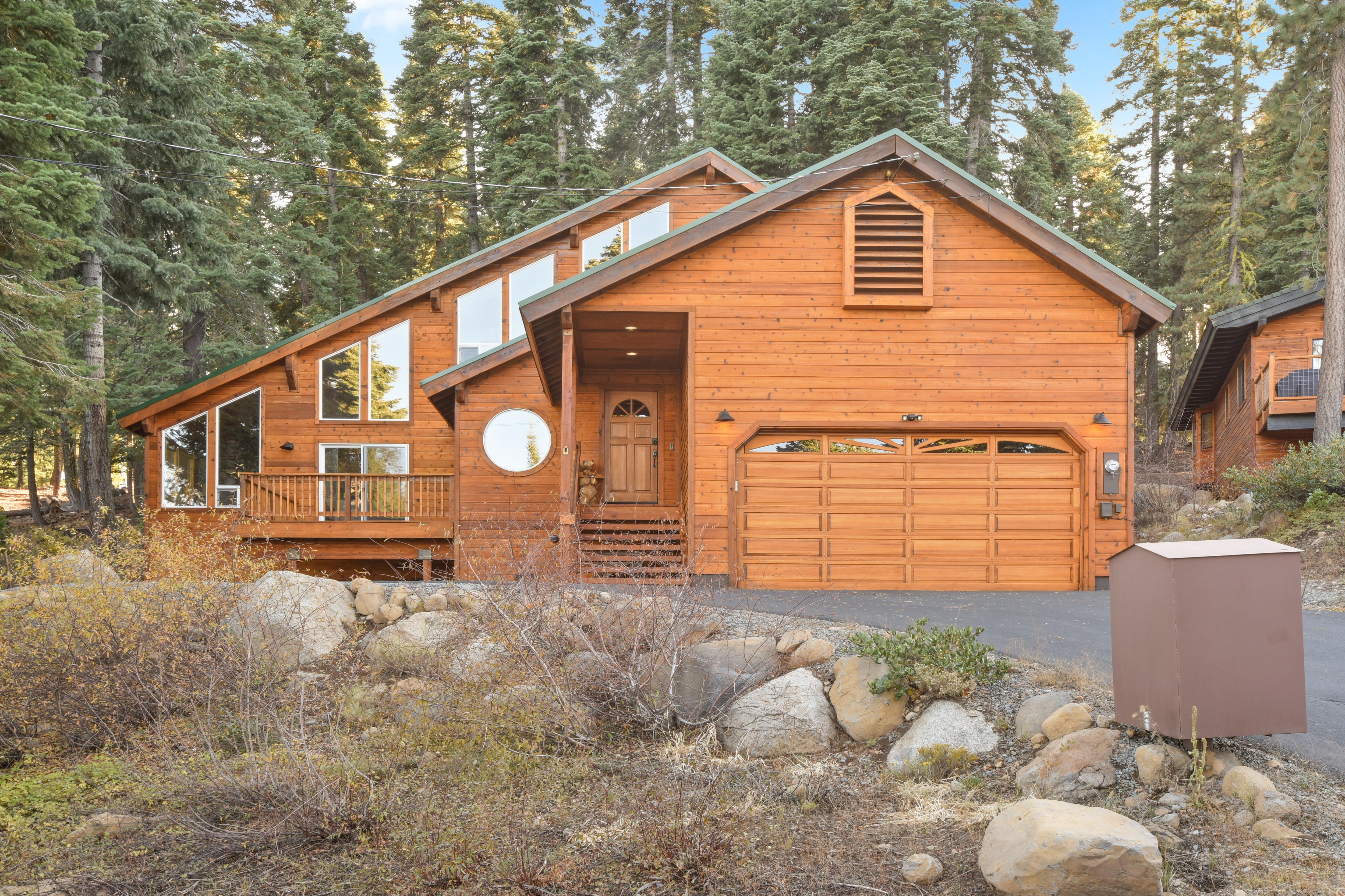 This rental is a consistent favorite among Tahoe Donner adventurers.