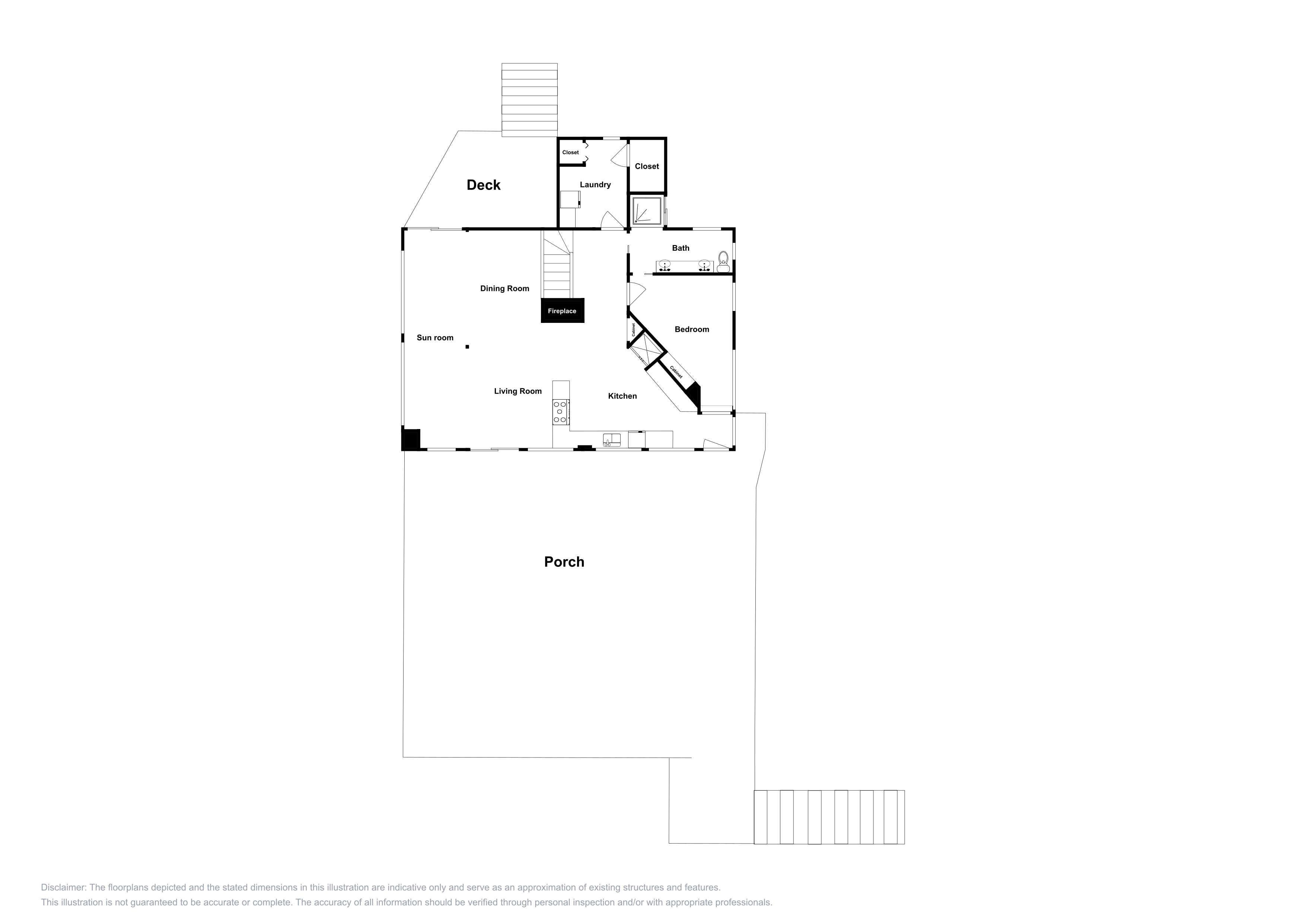 This layout is an approximation and may not include the most recent information.