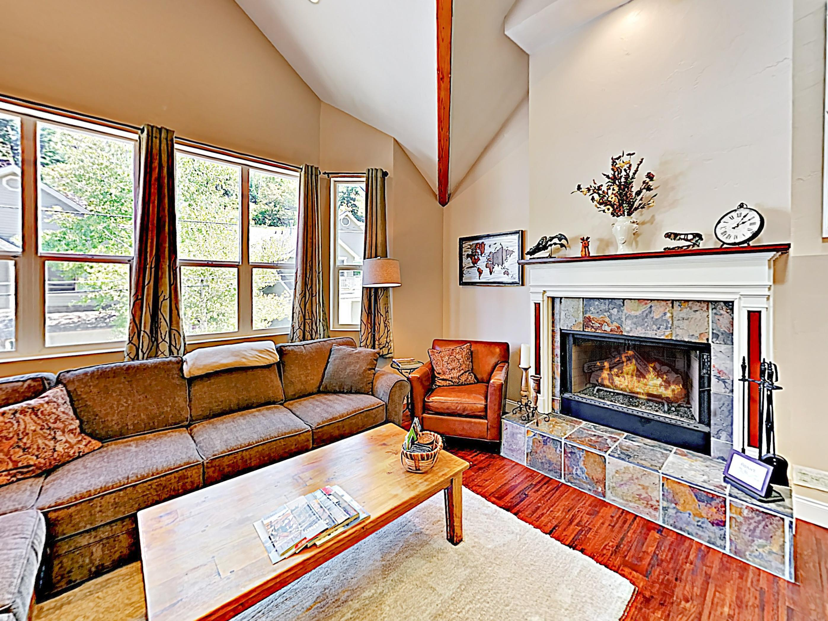 Welcome to Park City! This centrally located home is professionally managed by TurnKey Vacation Rentals.