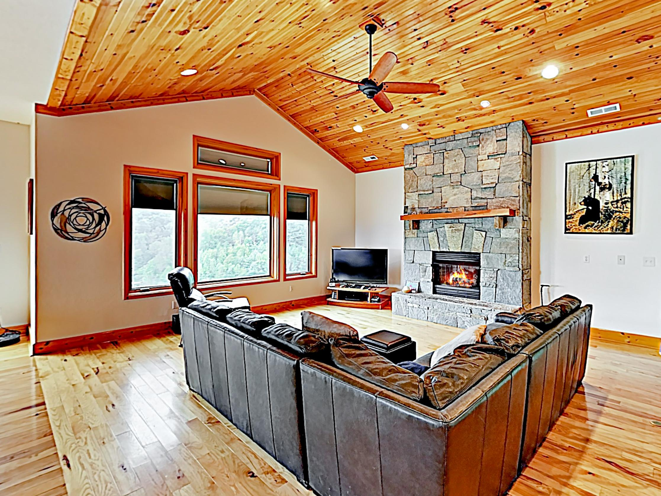 Welcome to Leicester! This mountain outpost is professionally managed by TurnKey Vacation Rentals.