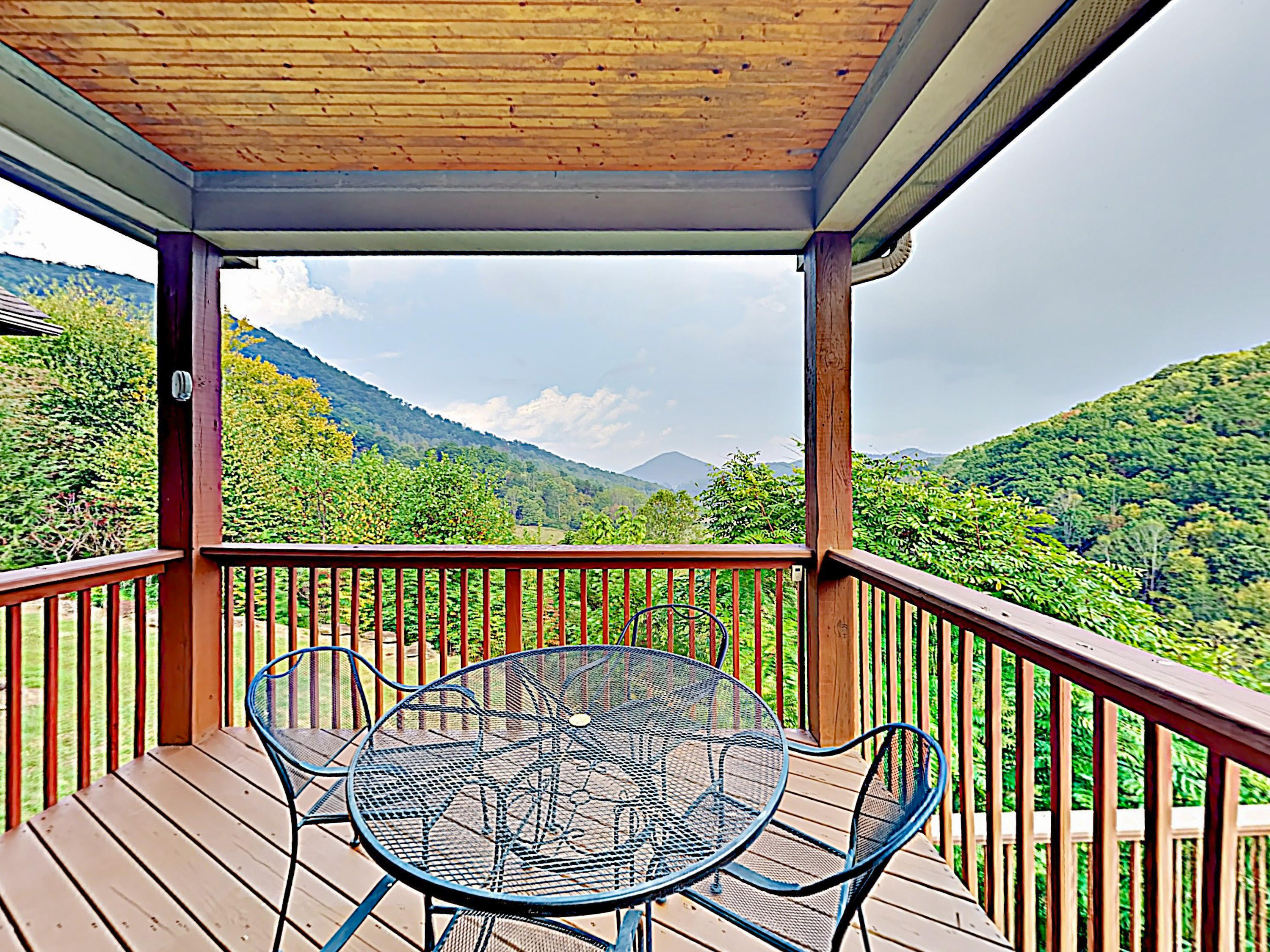 Share alfresco meals in front of breathtaking scenery on the upper deck.