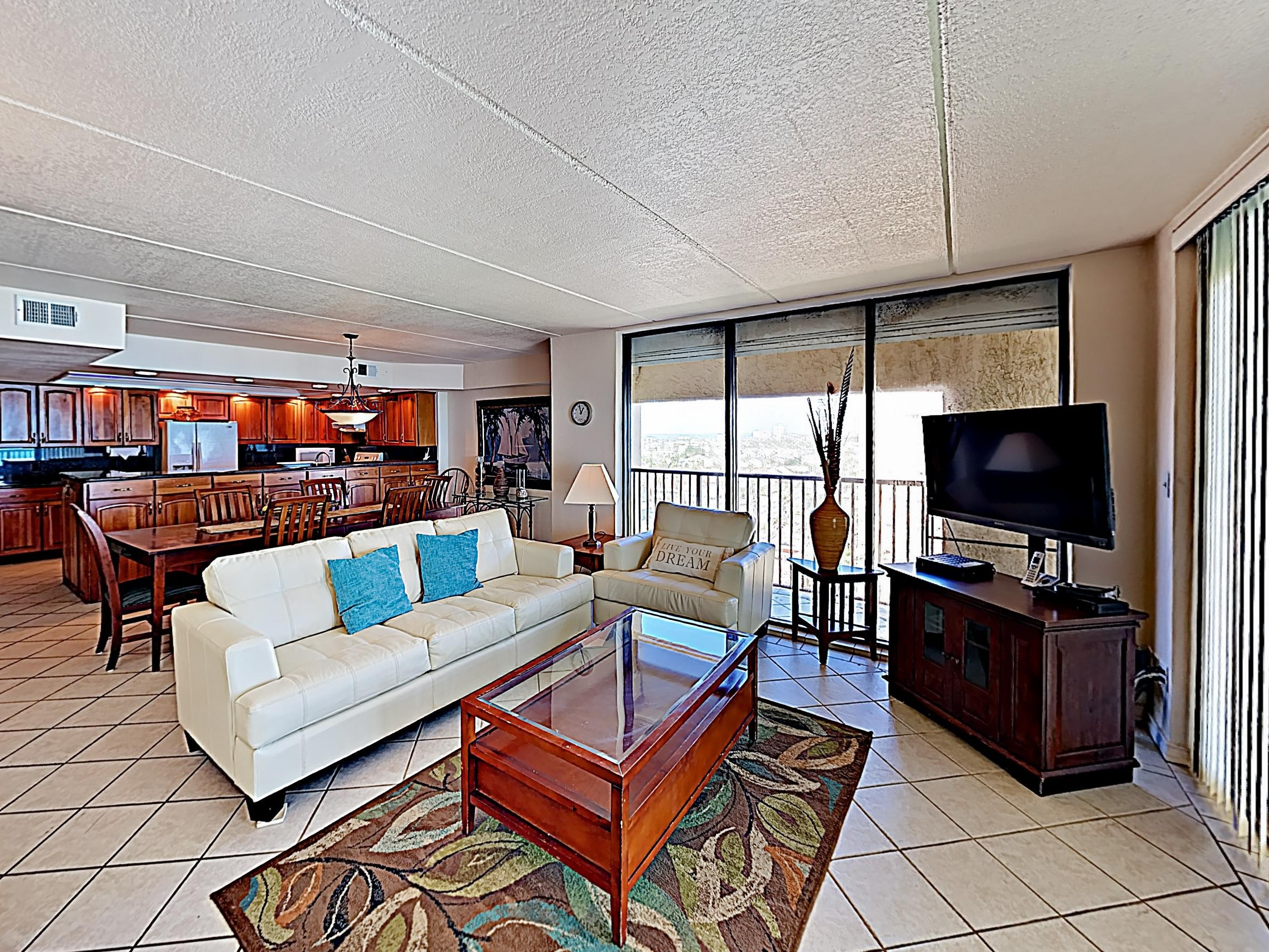 Welcome to Suntide III! This corner-unit condo is professionally managed by TurnKey Vacation Rentals.