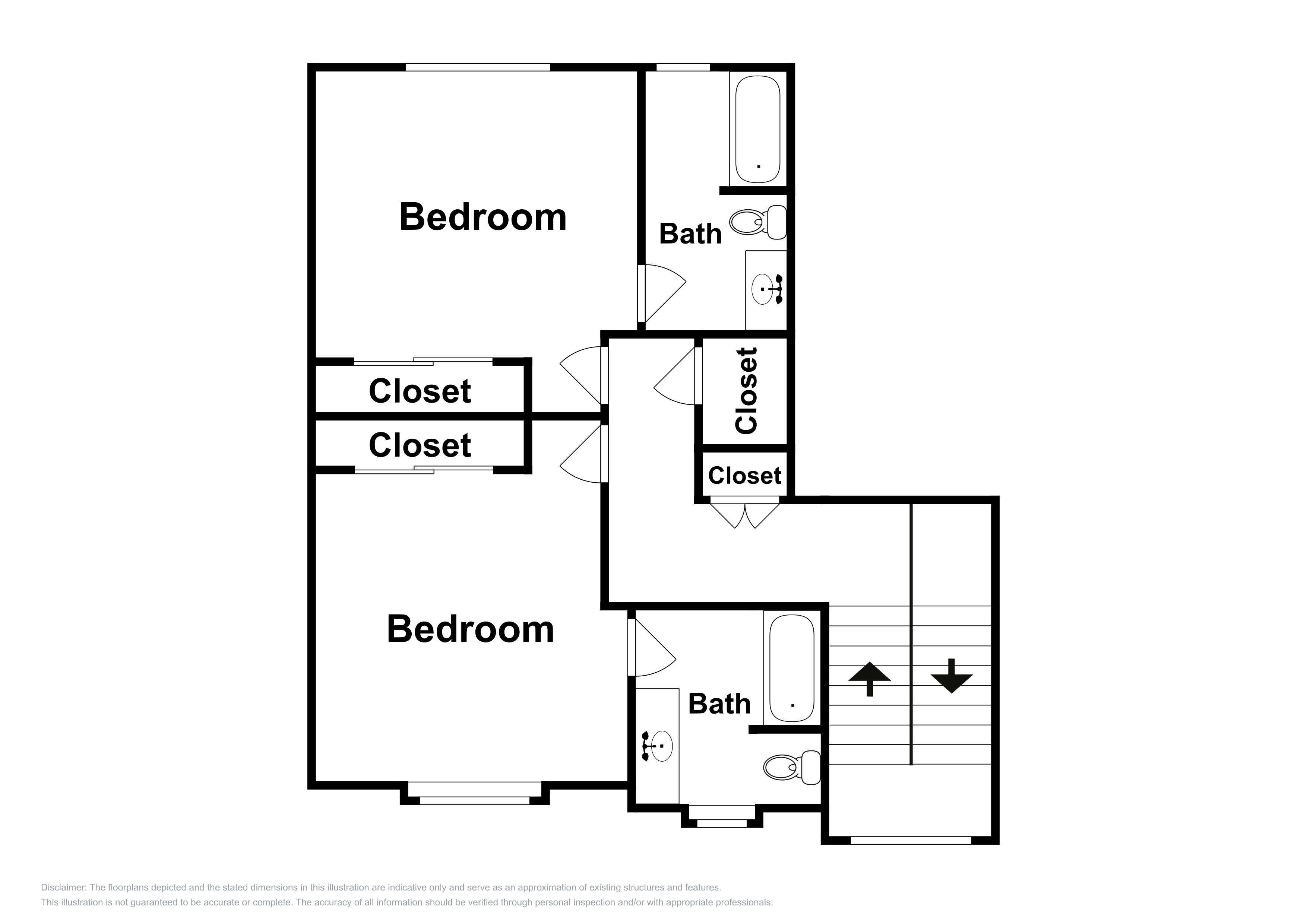 This layout of the 3rd floor is an approximation and may not include the most recent information.