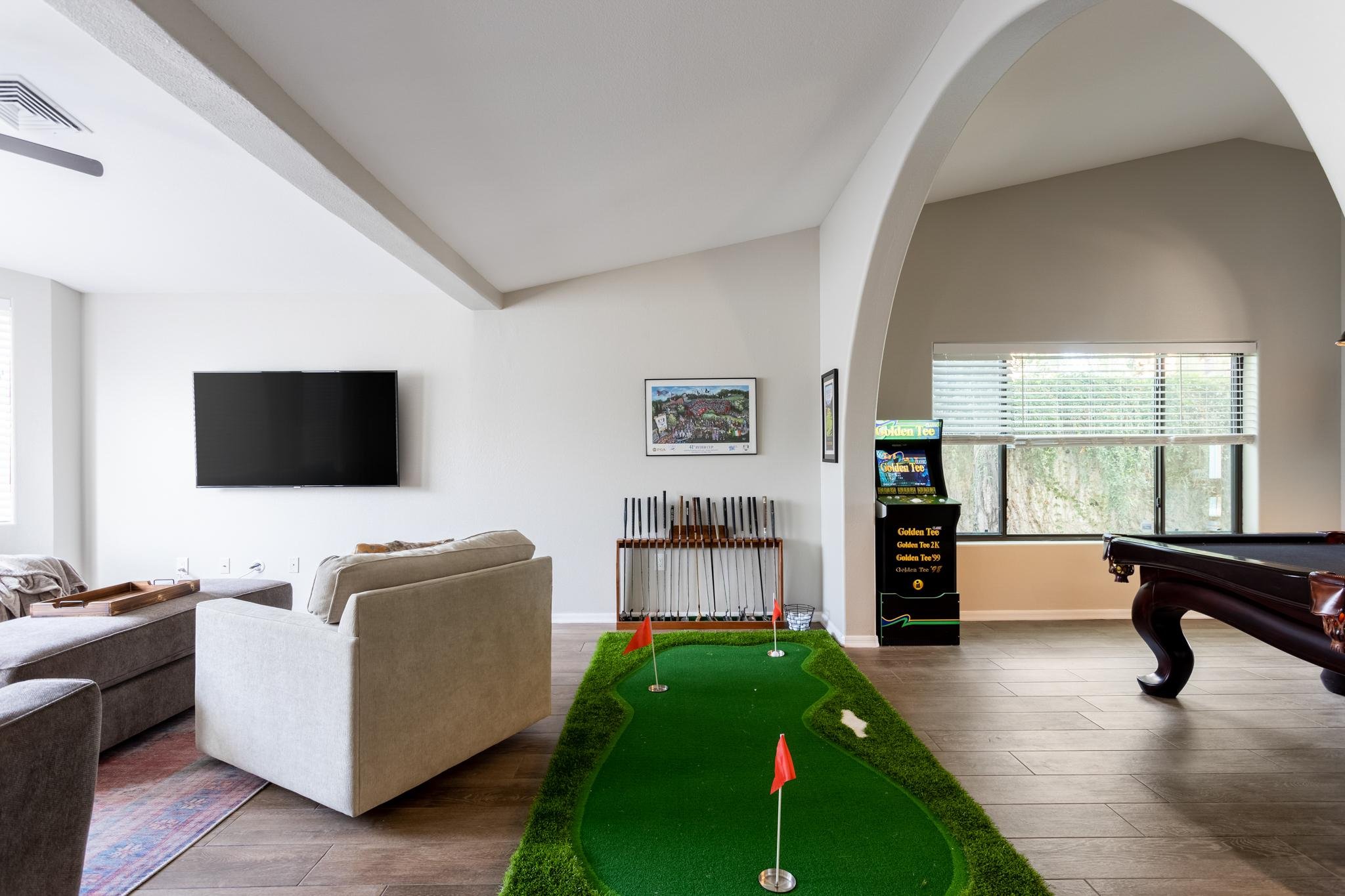 Entertaining Retreat Home with Pool and Games