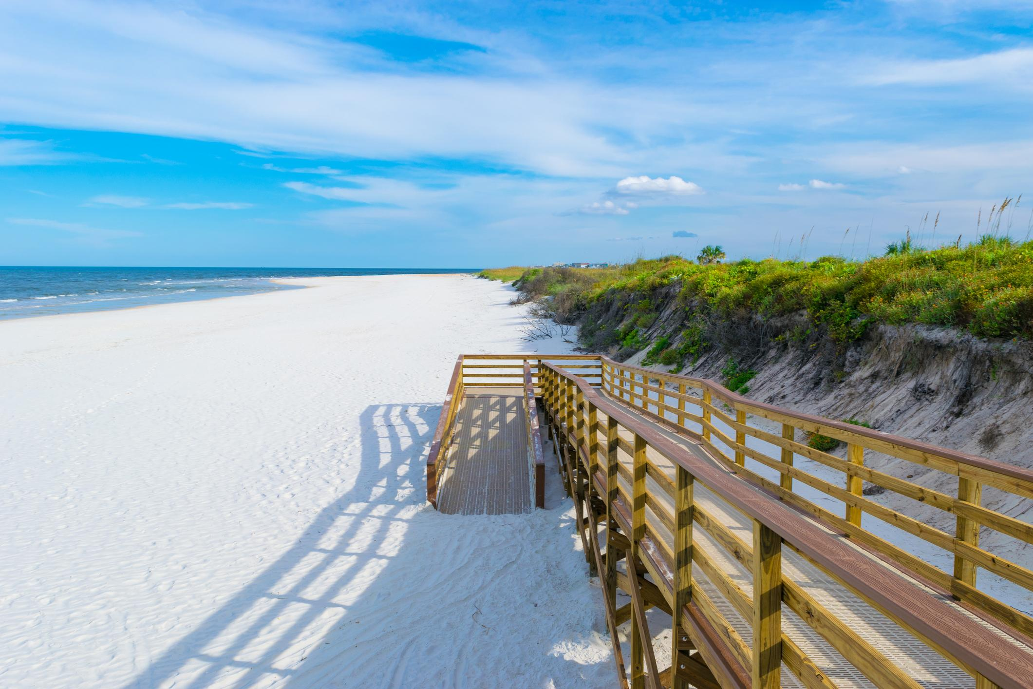 Spend a day lounging on the sugar-white shores of  Fernandina Beach.