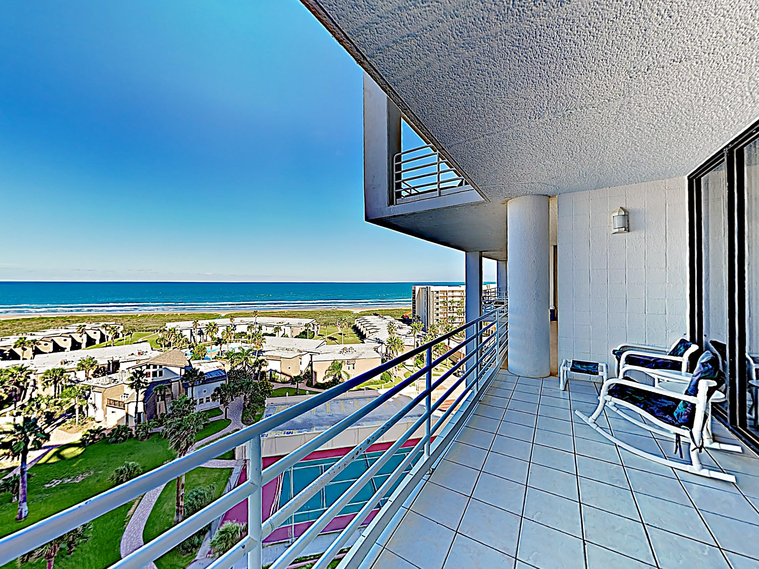 Posh Beachfront Condo with Pools and Fitness Center