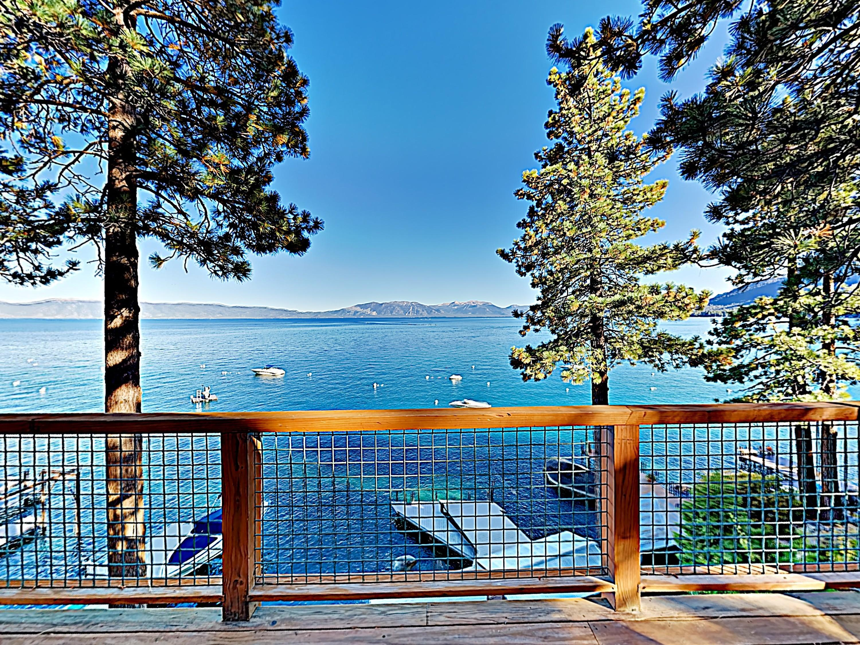 Property Image 1 - Stunning Lakefront Chalet with Private Dock and Hot Tub