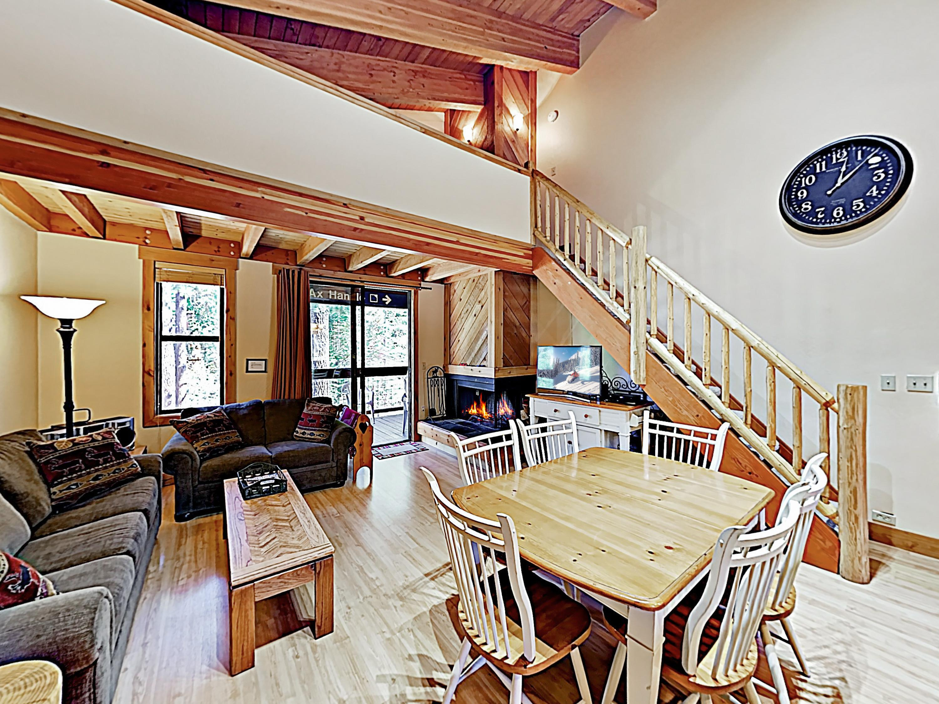 Welcome to Truckee! This townhome near Northstar Resort is professionally managed by TurnKey Vacation Rentals.