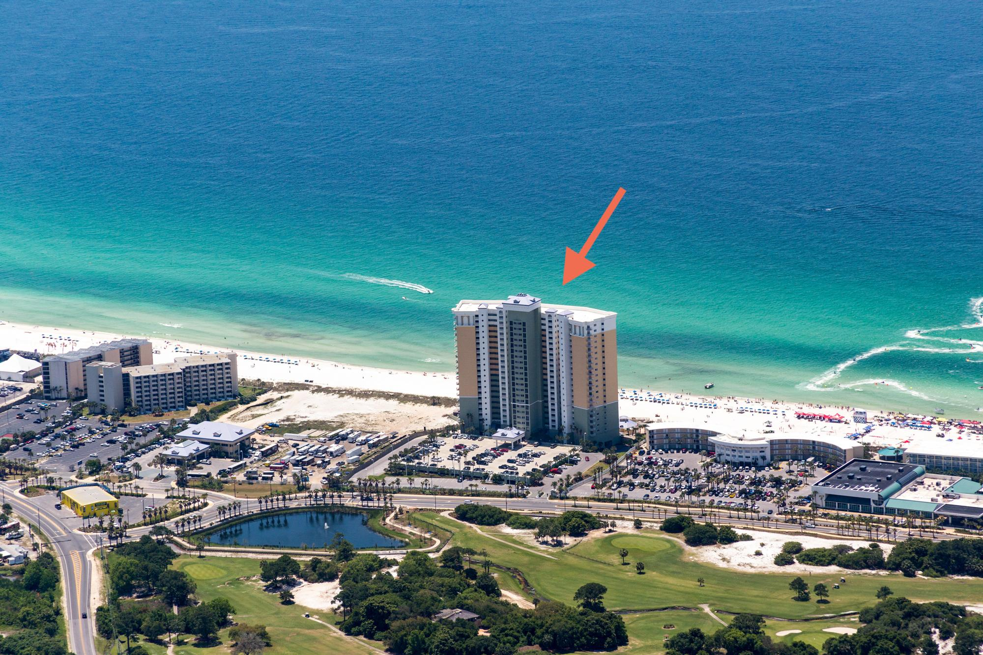 Nestled right on the Gulf, you can walk from your rental to the sugar-white sand beach in just minutes.