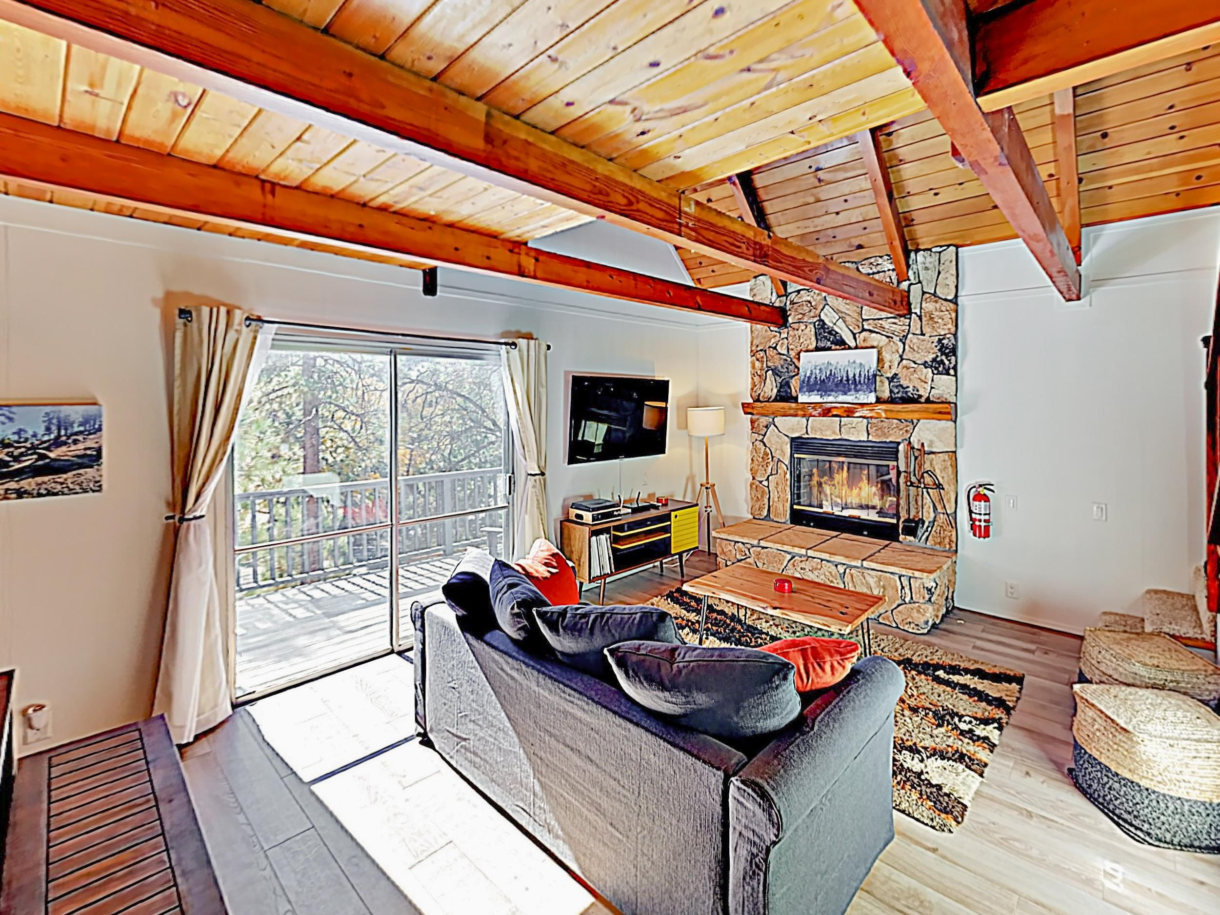 Charming Cabin with Wraparound Deck