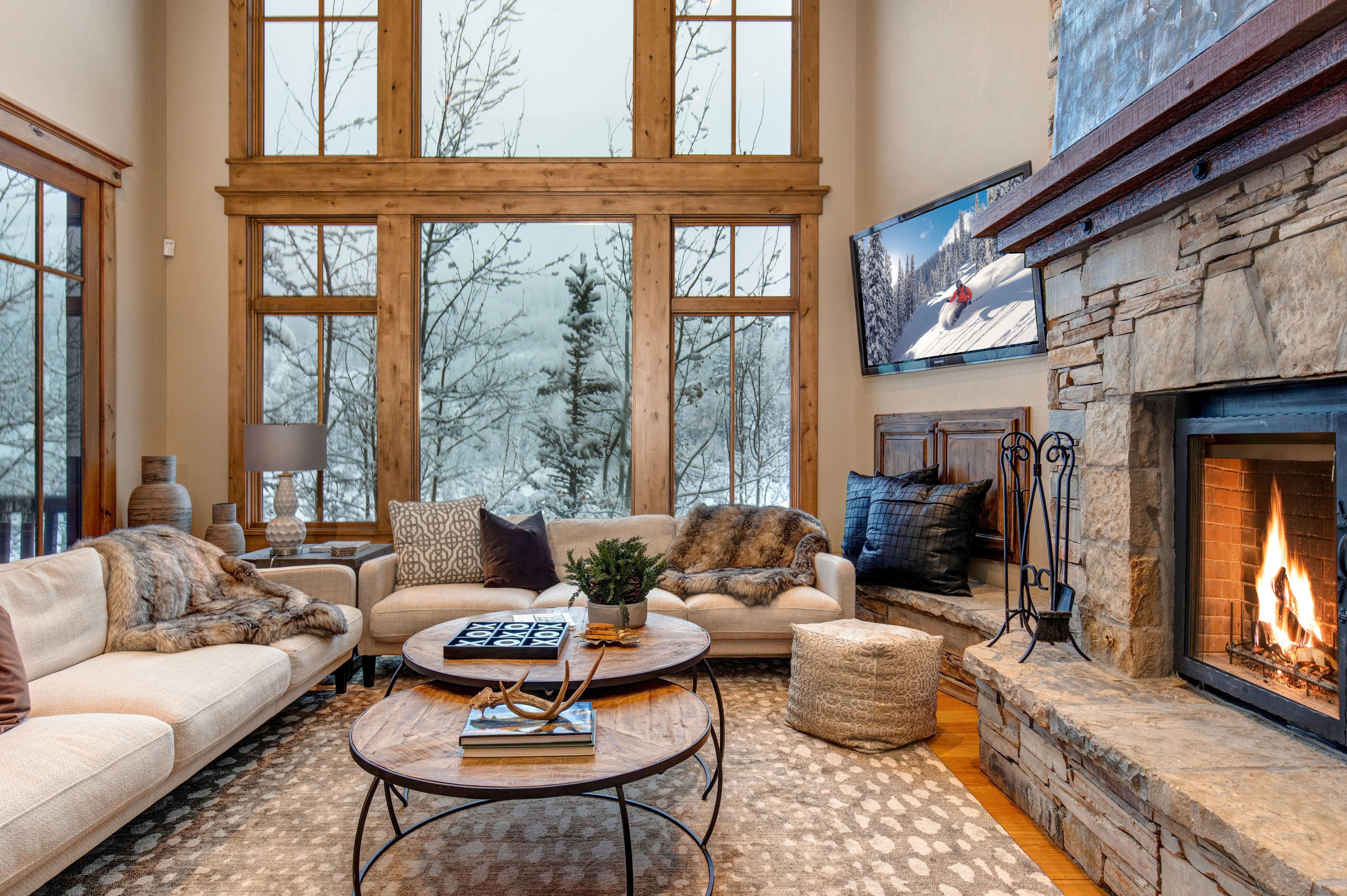 Welcome to the mountains! This luxurious estate is professionally managed by TurnKey Vacation Rentals.