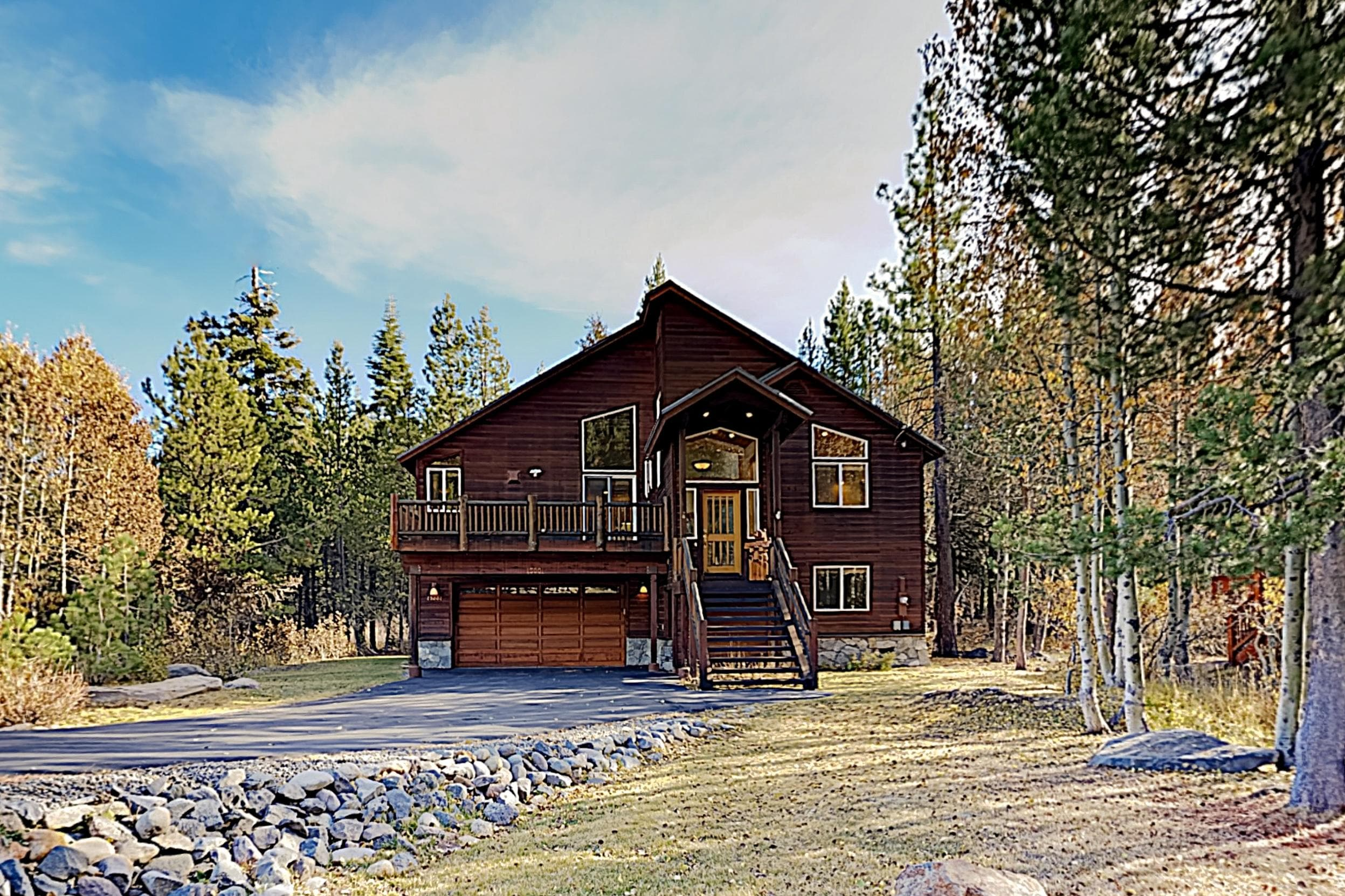 Welcome to Truckee! This chalet is professionally managed by TurnKey Vacation Rentals.