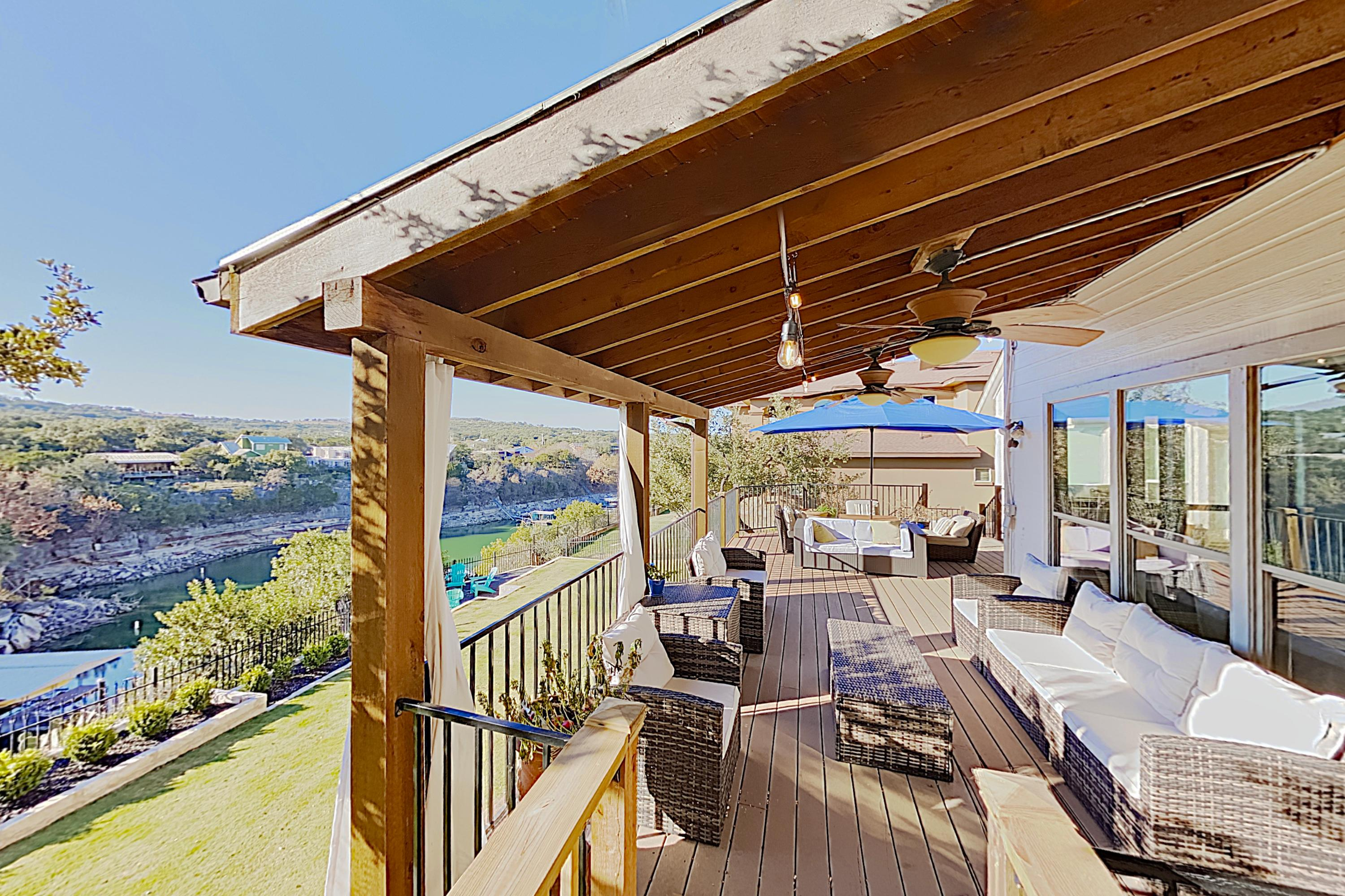 Welcome to Spicewood! This Briarcliff estate on Lake Travis is professionally managed by TurnKey Vacation Rentals.