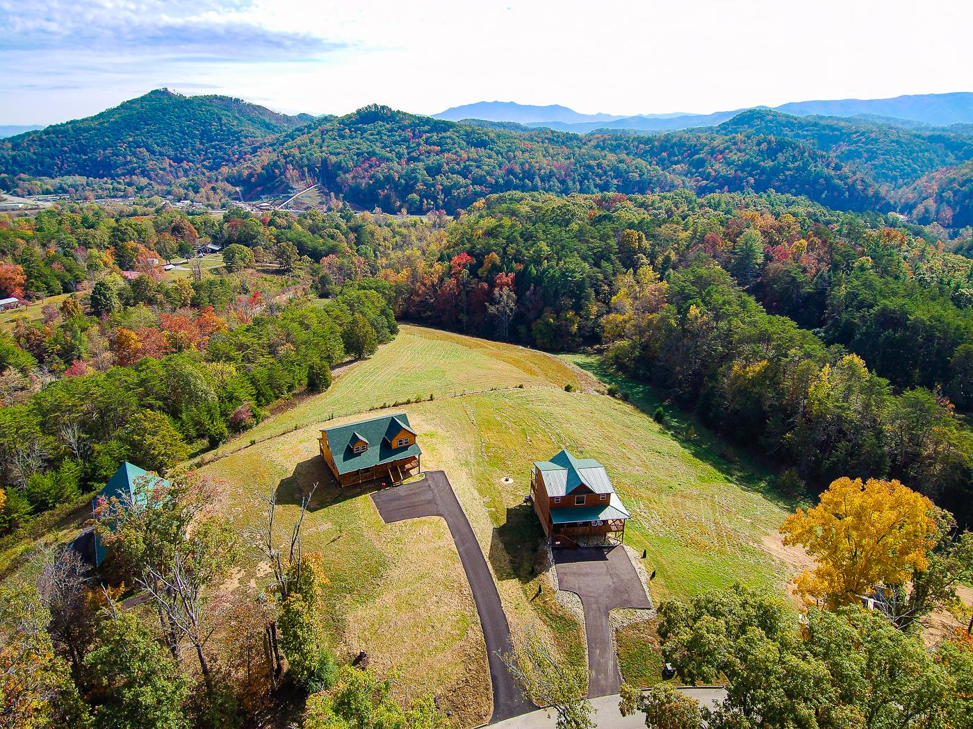 Welcome to Sevierville! Comprised of 2 homes, this Smoky Mountain basecamp is professionally managed by TurnKey Vacation Rentals.
