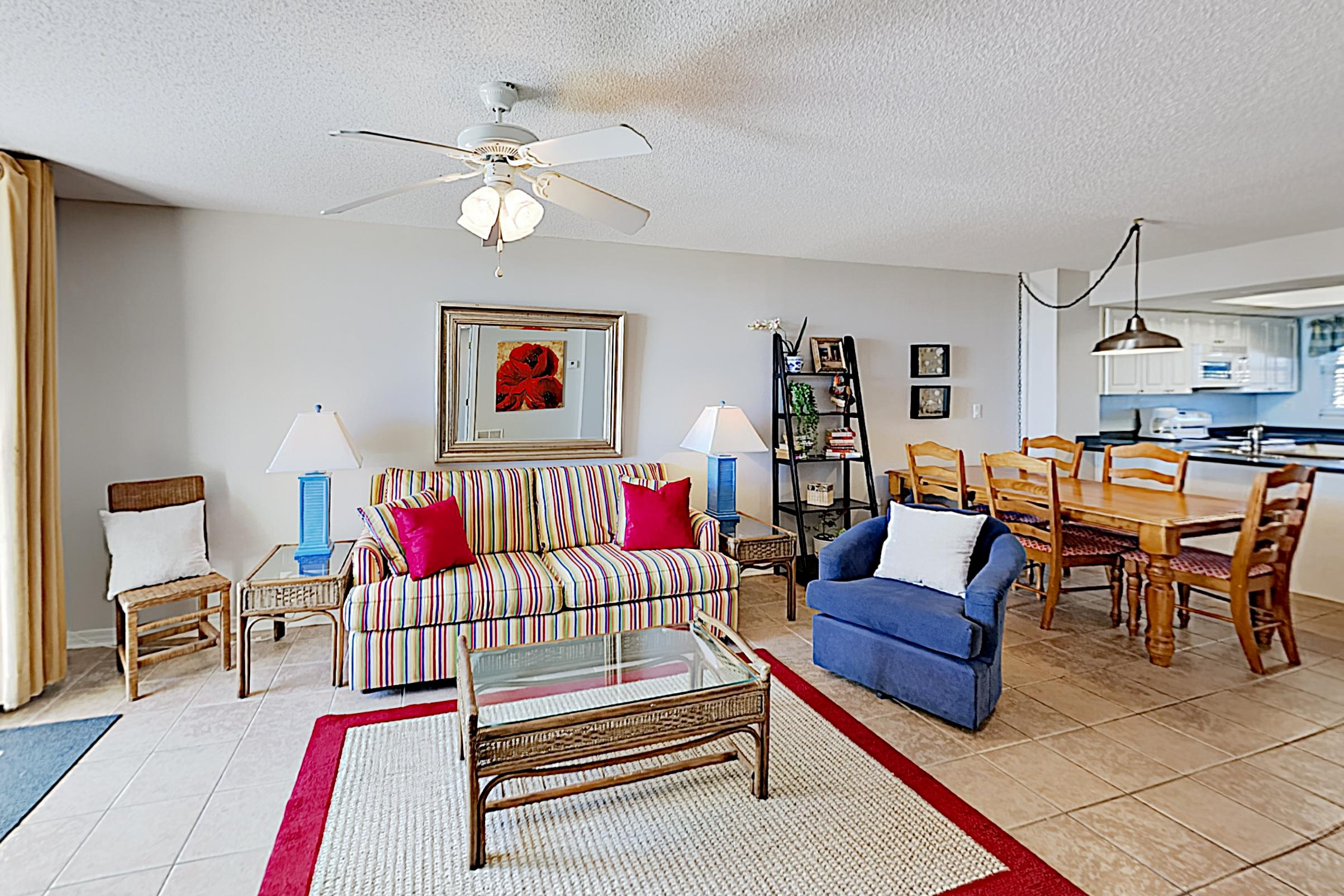 Welcome to the beach! This condo is professionally managed by TurnKey Vacation Rentals.