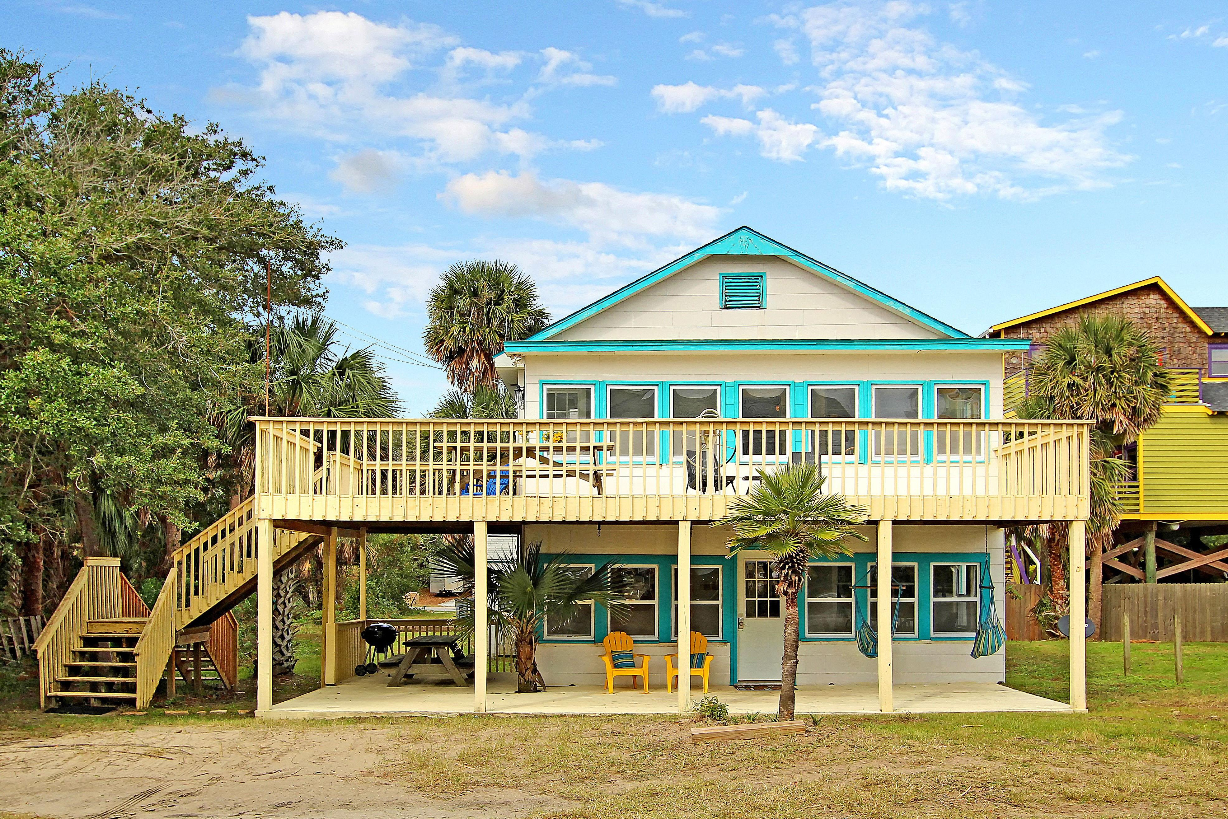 Welcome to Folly Beach! This 2-unit beach bungalow is professionally managed by TurnKey Vacation Rentals.