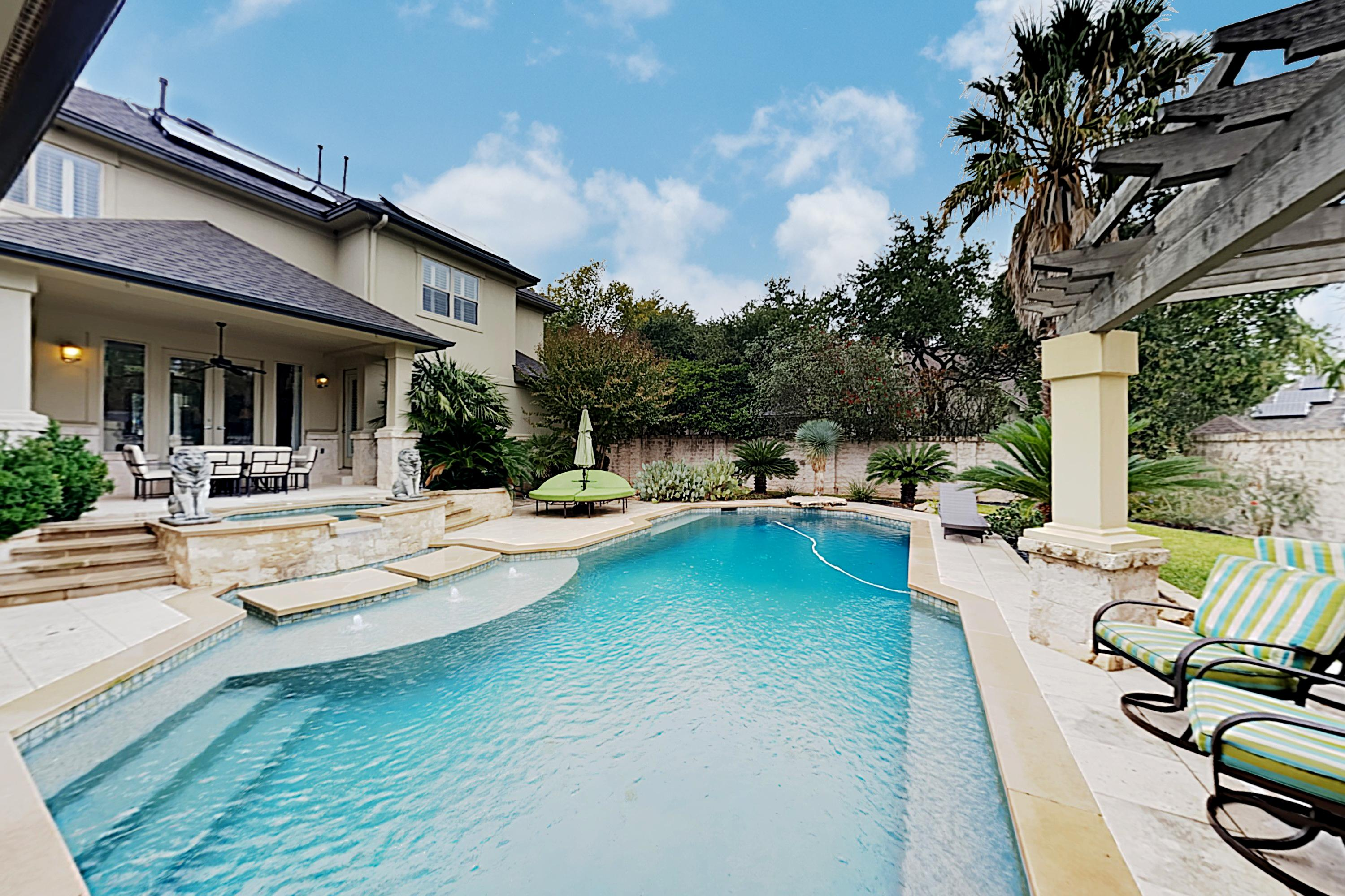 Welcome to Austin! This incredible home is professionally managed by TurnKey Vacation Rentals.
