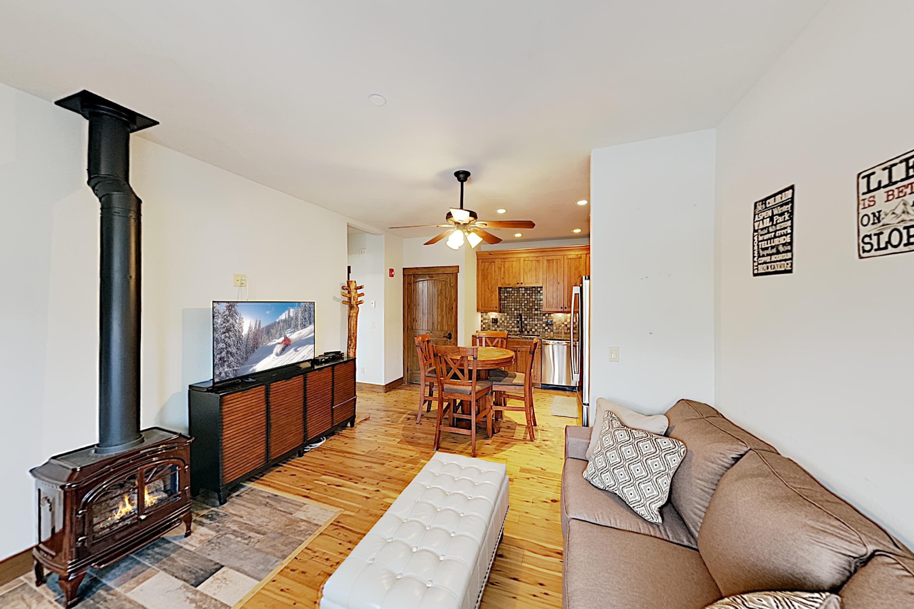 Welcome to the mountains! This condo is professionally managed by TurnKey Vacation Rentals.