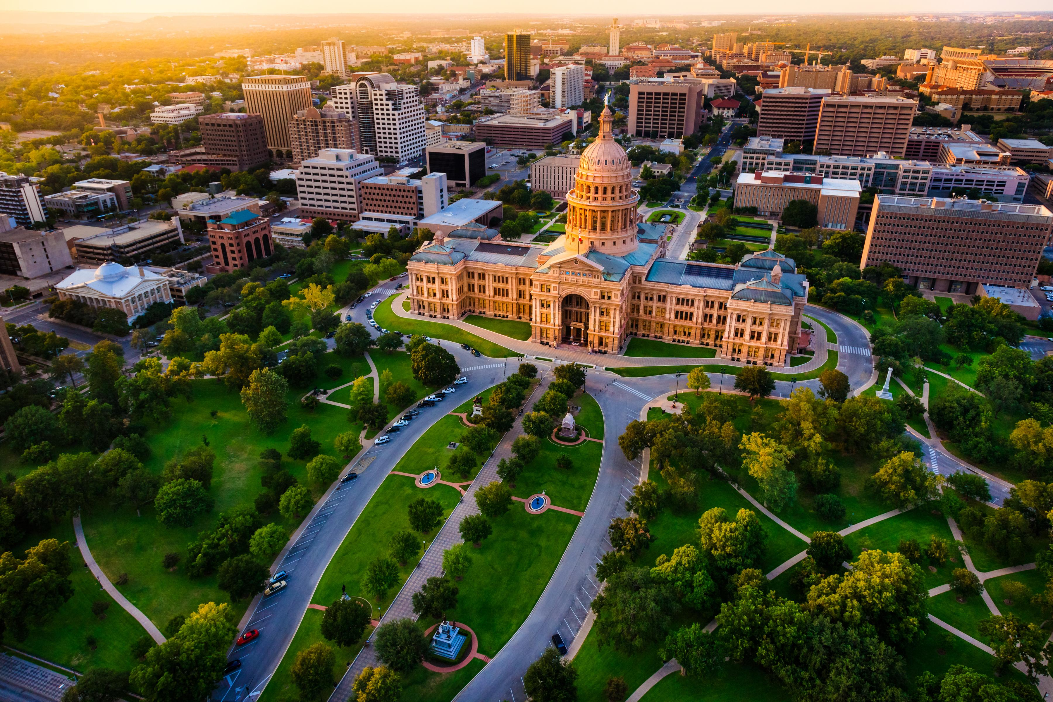 Take a day trip to the state capitol in Austin.