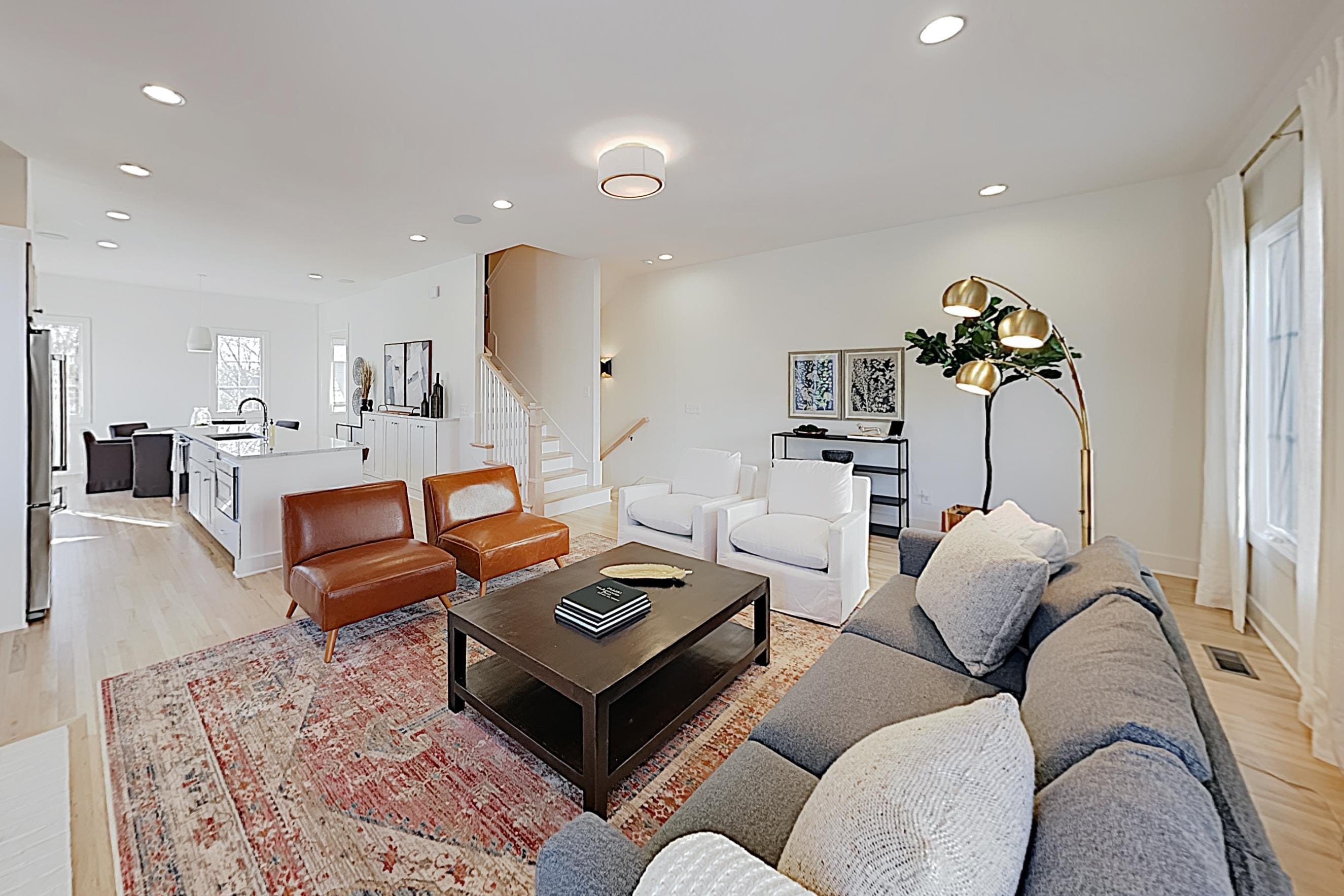 Welcome to Nashville! This chic end unit is professionally managed by TurnKey Vacation Rentals.