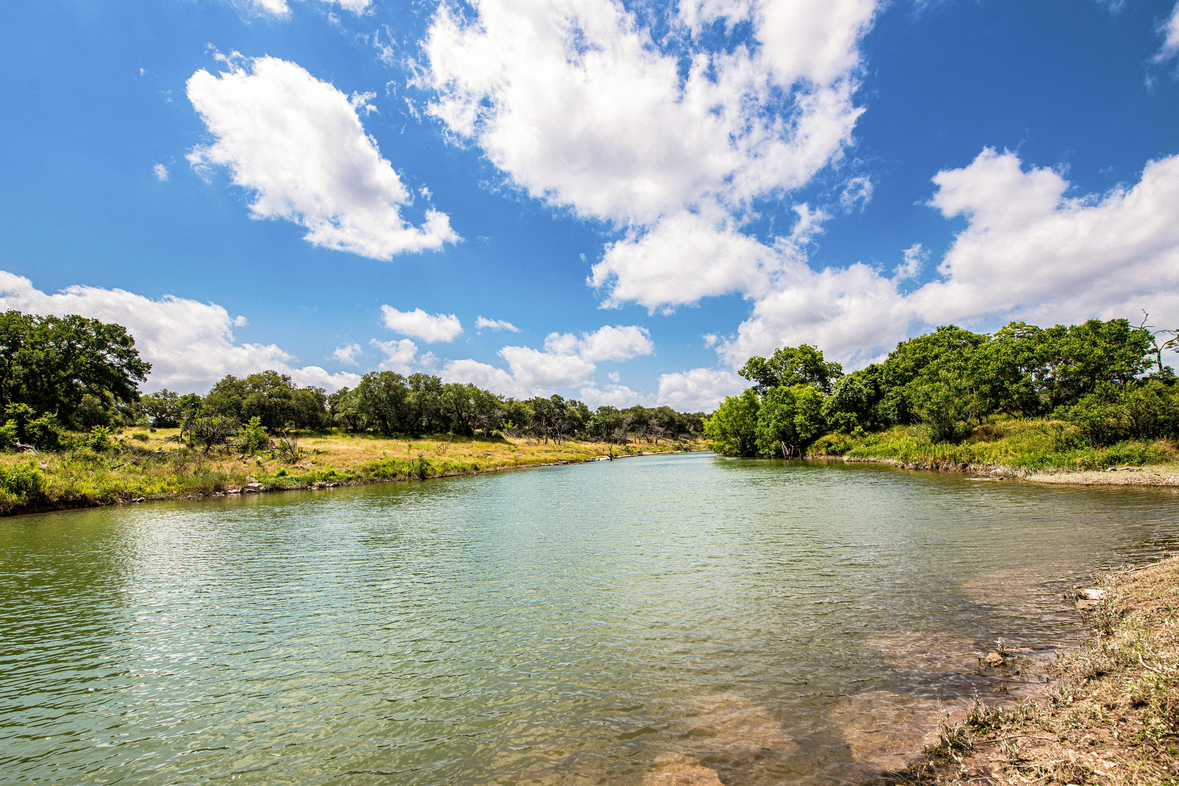 Take a hike to discover beautiful lakes in the Texas Hill Country.