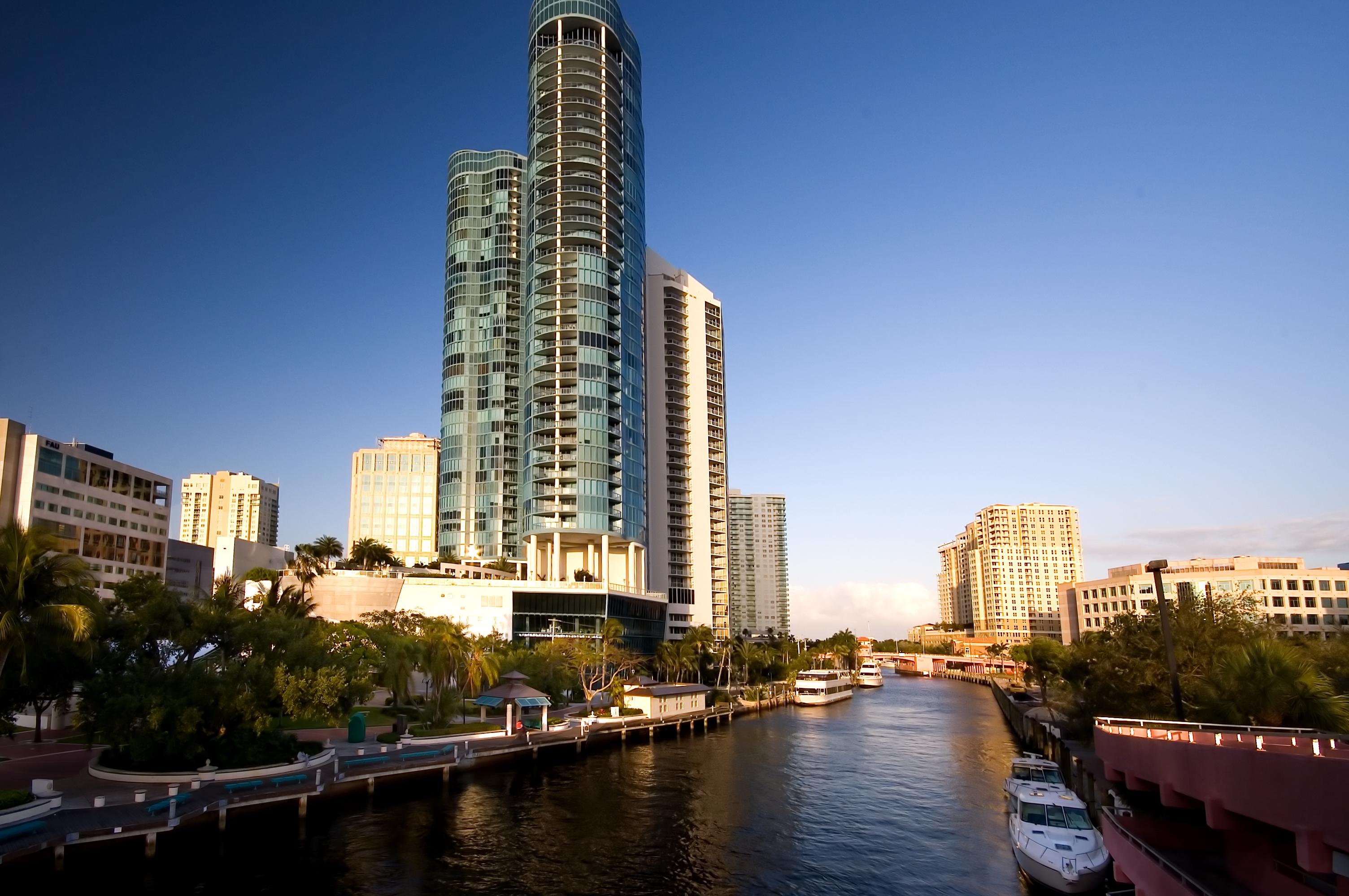 Downtown Fort Lauderdale awaits in 3.2 miles.