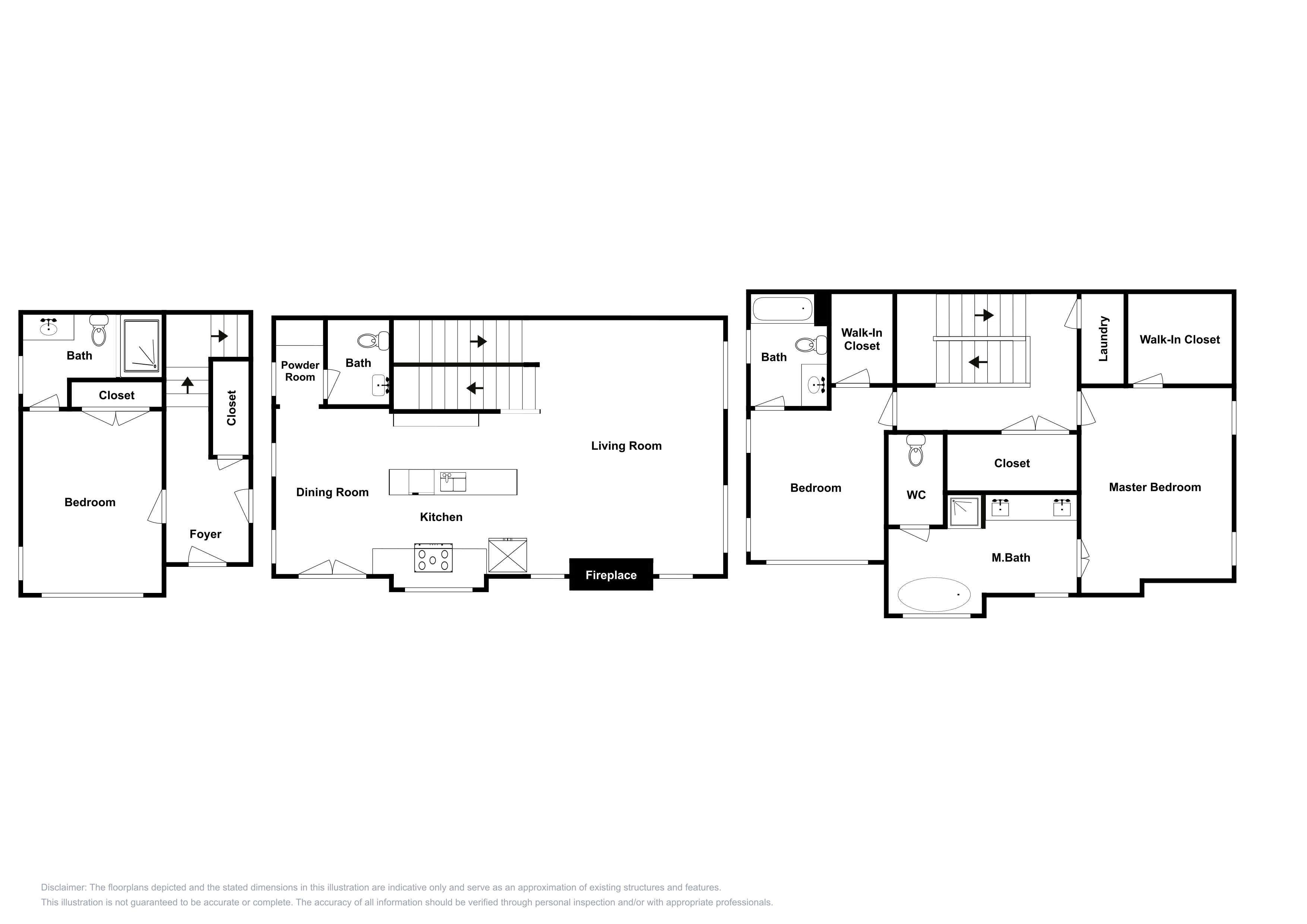 Unit 3: This floor plan is an approximation and may not include the most recent information.