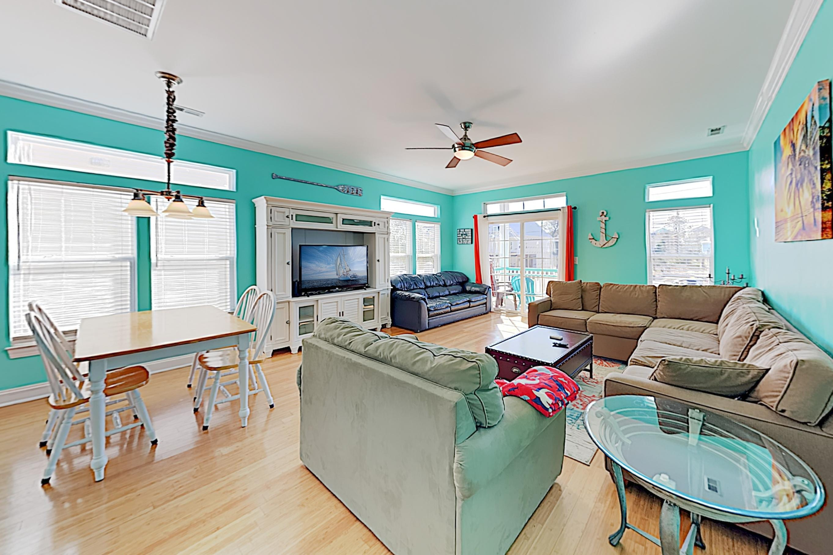 Welcome to Carolina Beach! This townhome is professionally managed by TurnKey Vacation Rentals.
