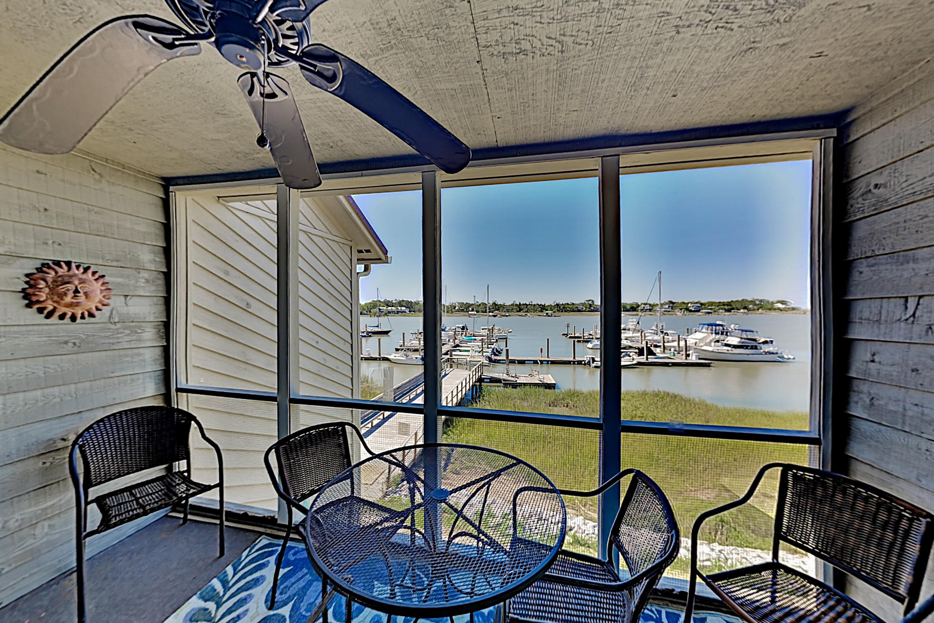 Waterfront Folly River Gem w/ Pool - Near Beach