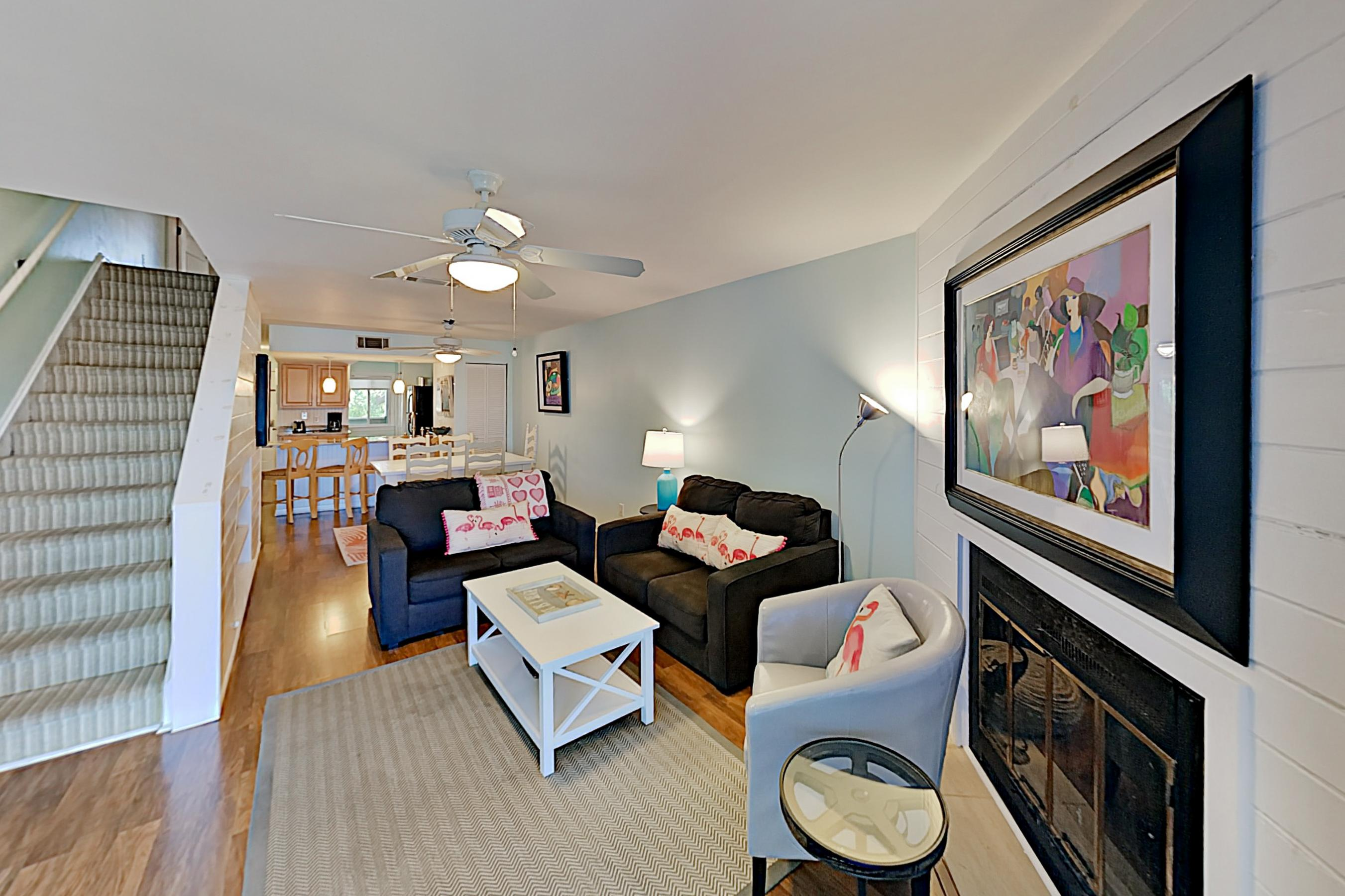 Welcome to Folly Beach! This Mariners Cay condo is professionally managed by TurnKey Vacation Rentals.