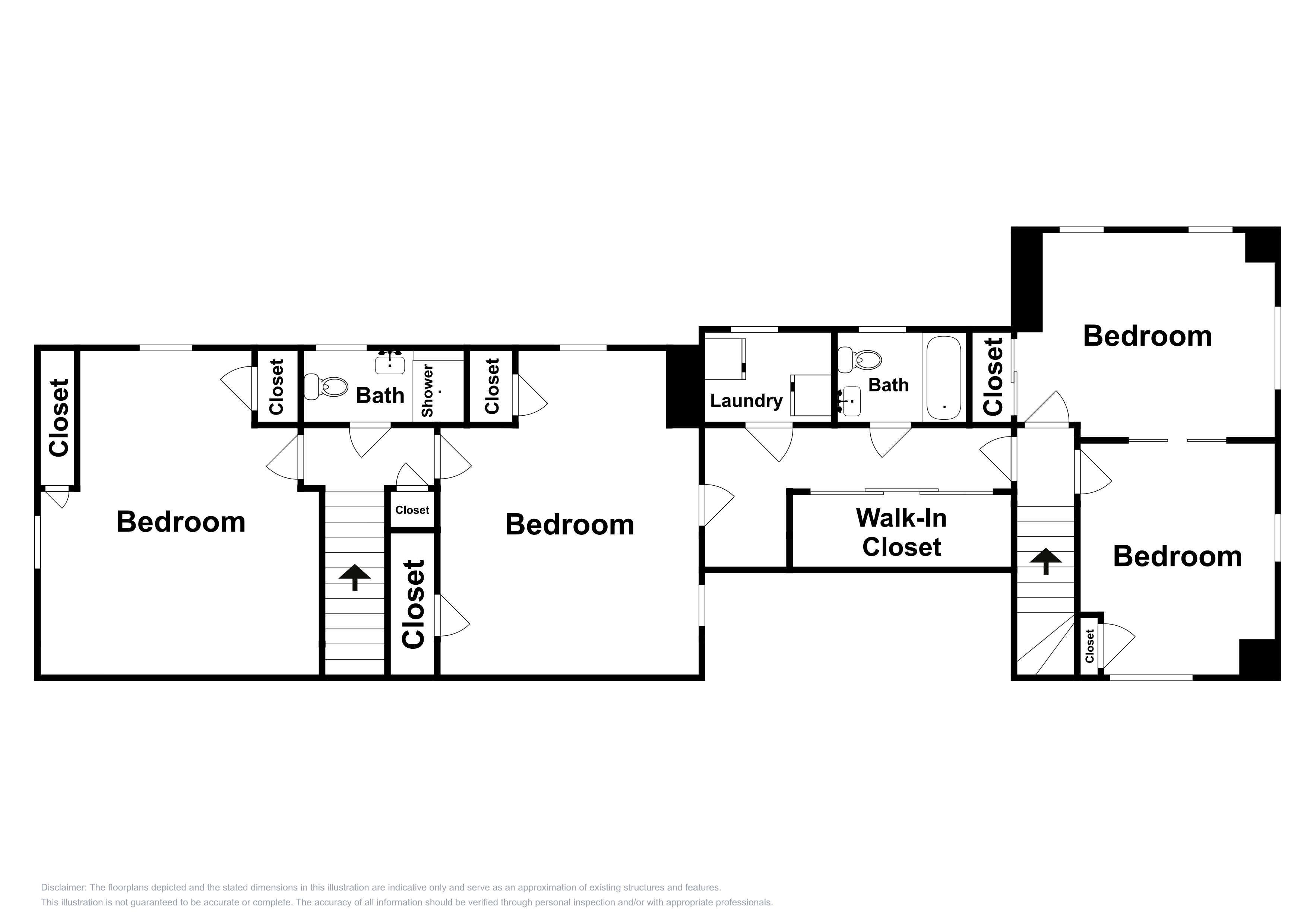 2nd Floor: This floor plan is an approximation and may not include the most recent information.
