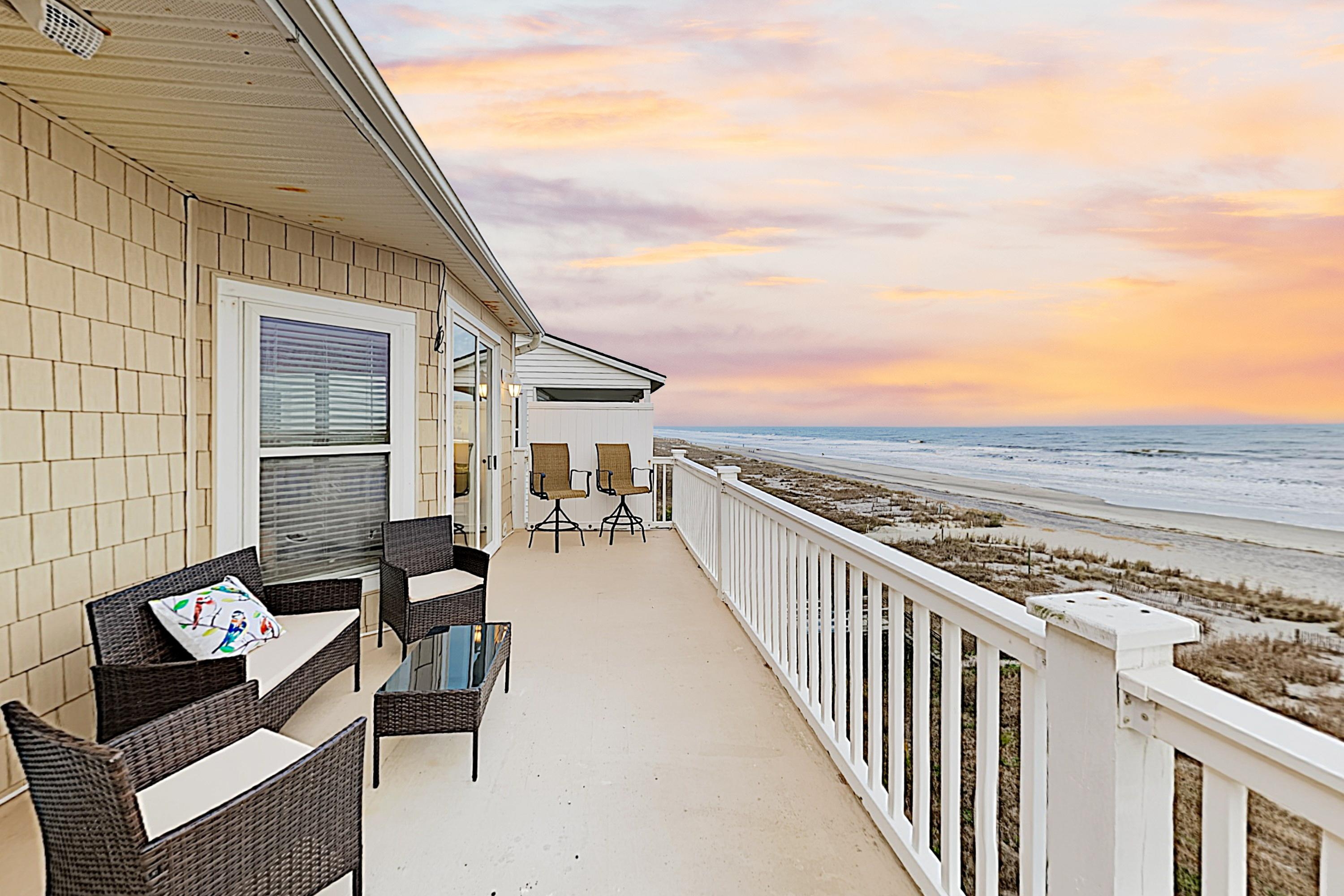 Welcome to Folly Beach! This oceanfront penthouse is professionally managed by TurnKey Vacation Rentals.