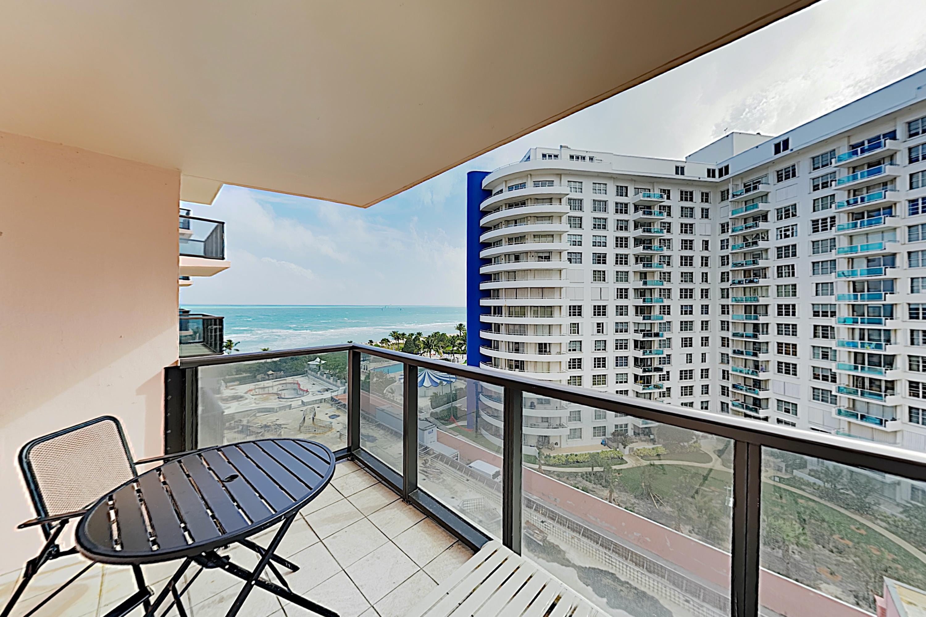 Welcome to Miami Beach! This resort condo is professionally managed by TurnKey Vacation Rentals.