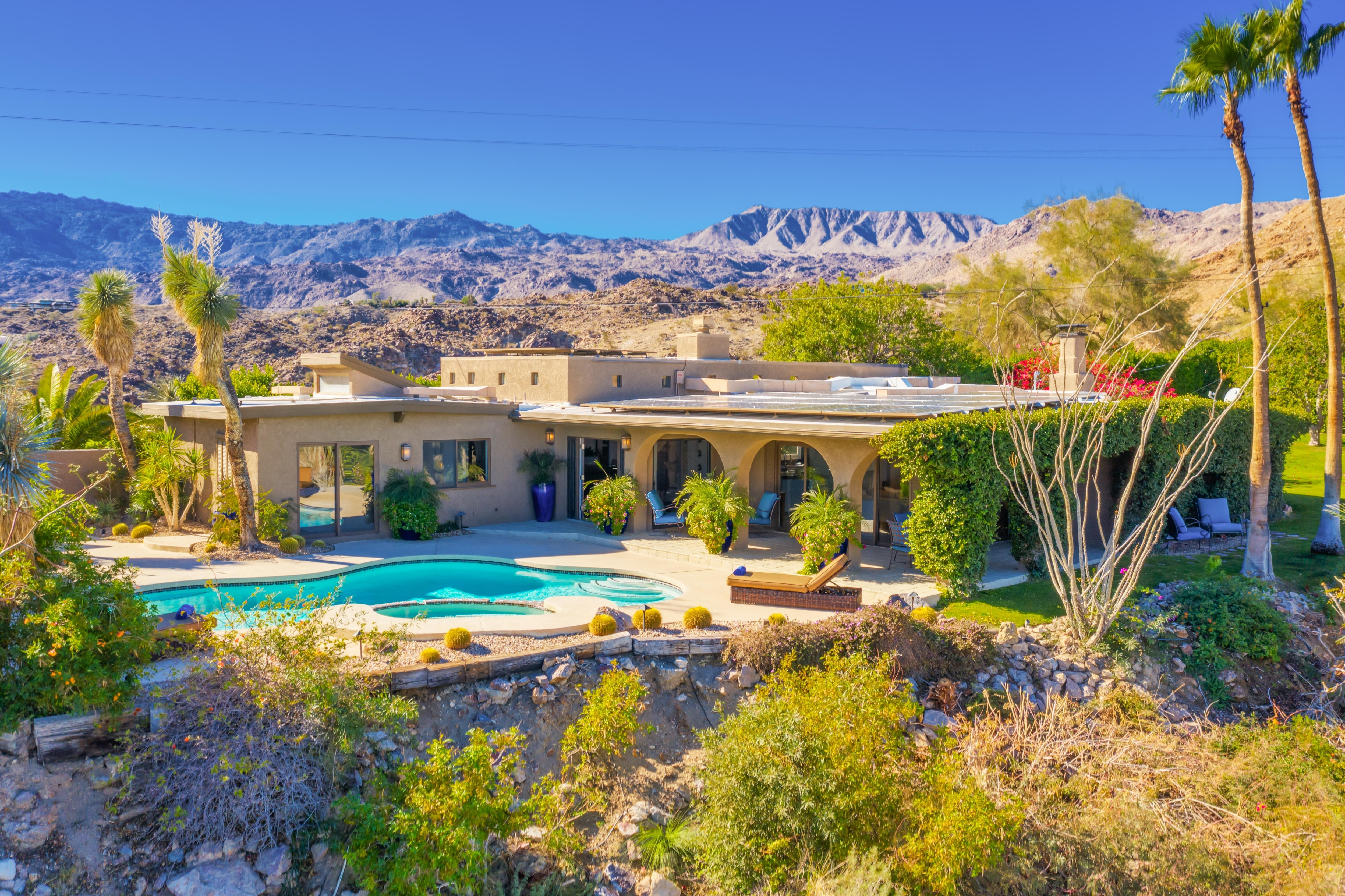Welcome to Palm Desert! This private, 5-acre, gated estate is professionally managed by TurnKey Vacation Rentals.