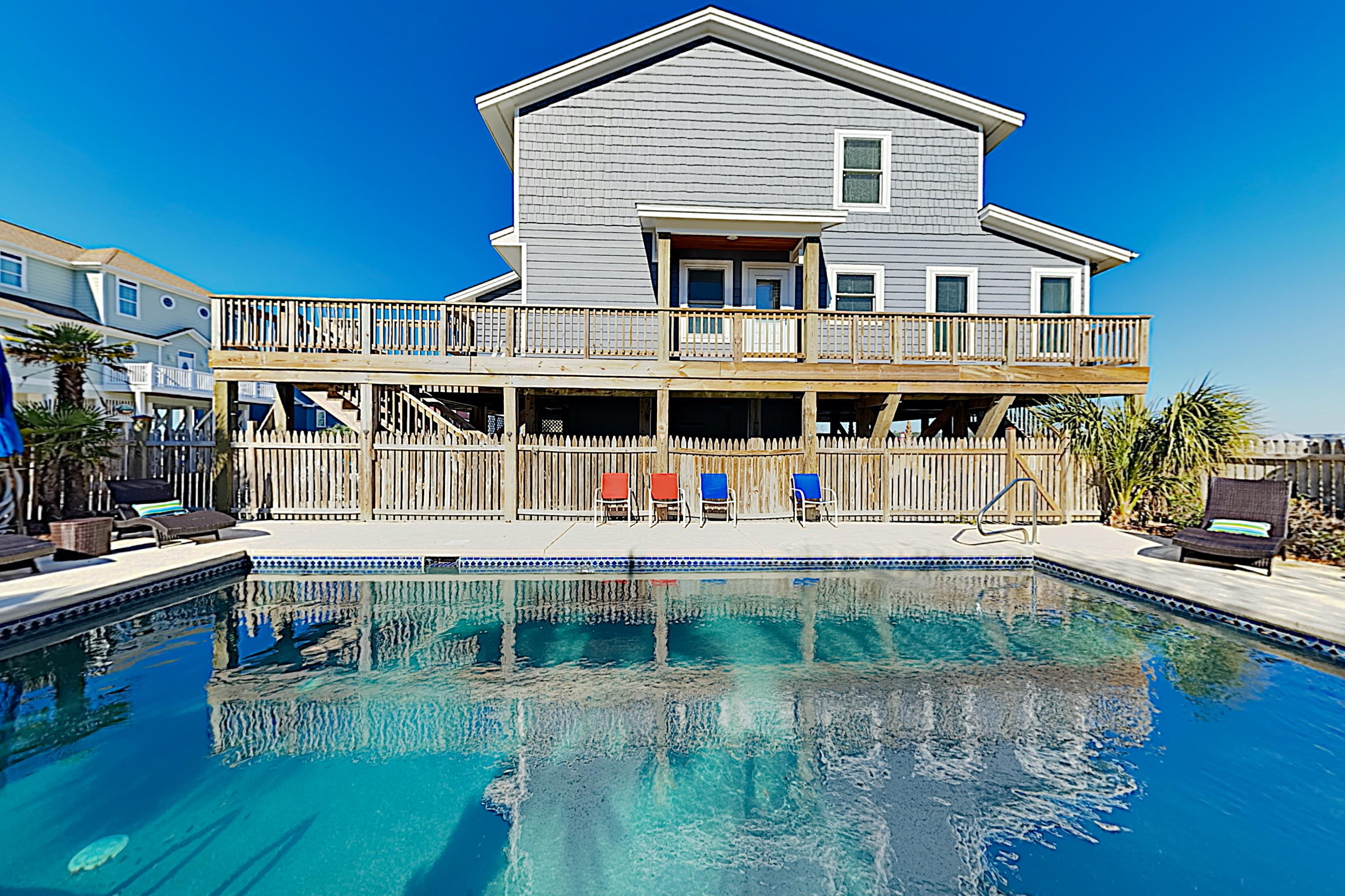Welcome to Ocean Isle Beach! This home is professionally managed by TurnKey Vacation Rentals. Delight in your own private coastal oasis, complete with a private pool.